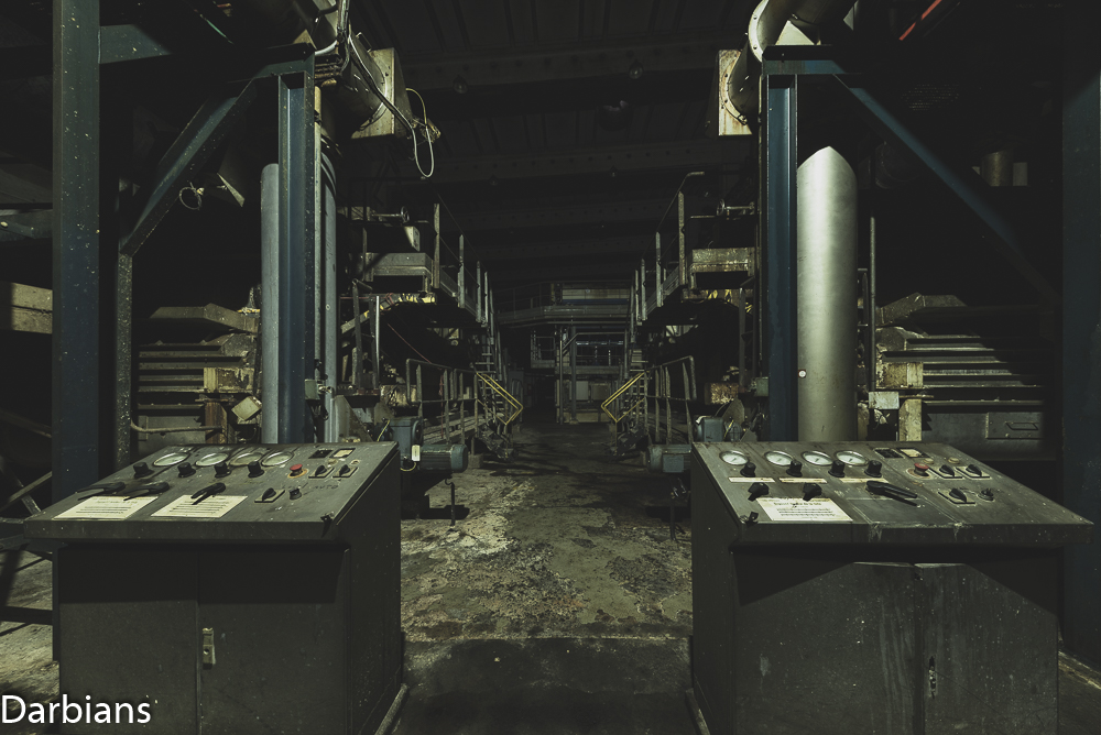 Abandoned papermill France