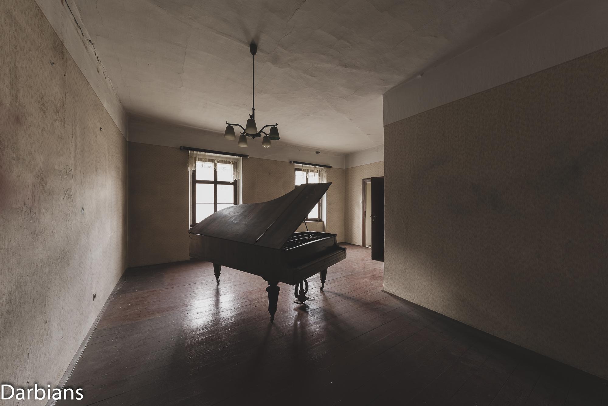 The grand piano.