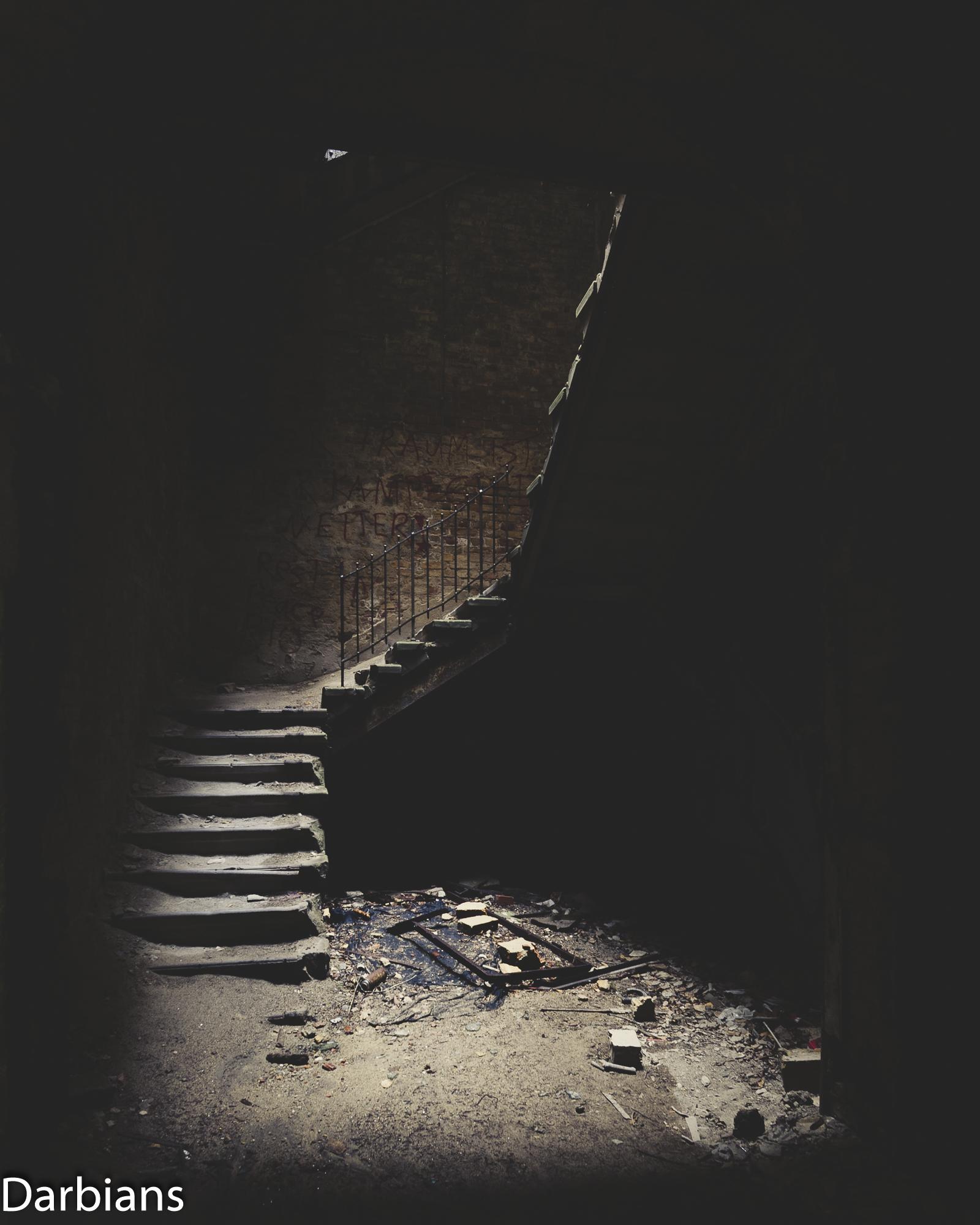 Beelitz Female Pavilions: The famous staircase