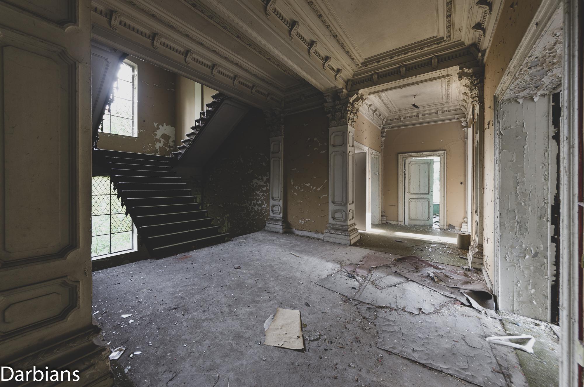 Chateau Rochendaal. First floor landing.