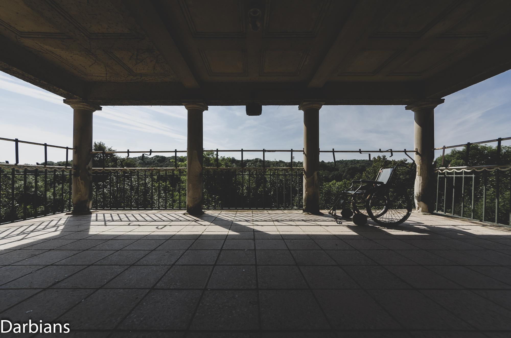 House Of Wheelchairs. Balcony.