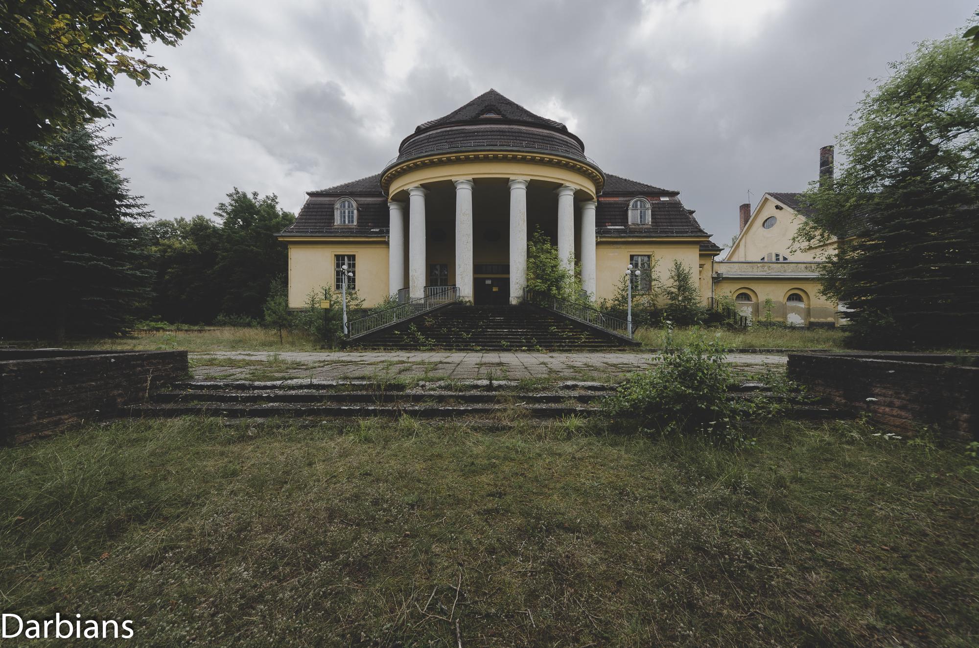 Haus Der Offiziere Wünsdorf Badeanstalt