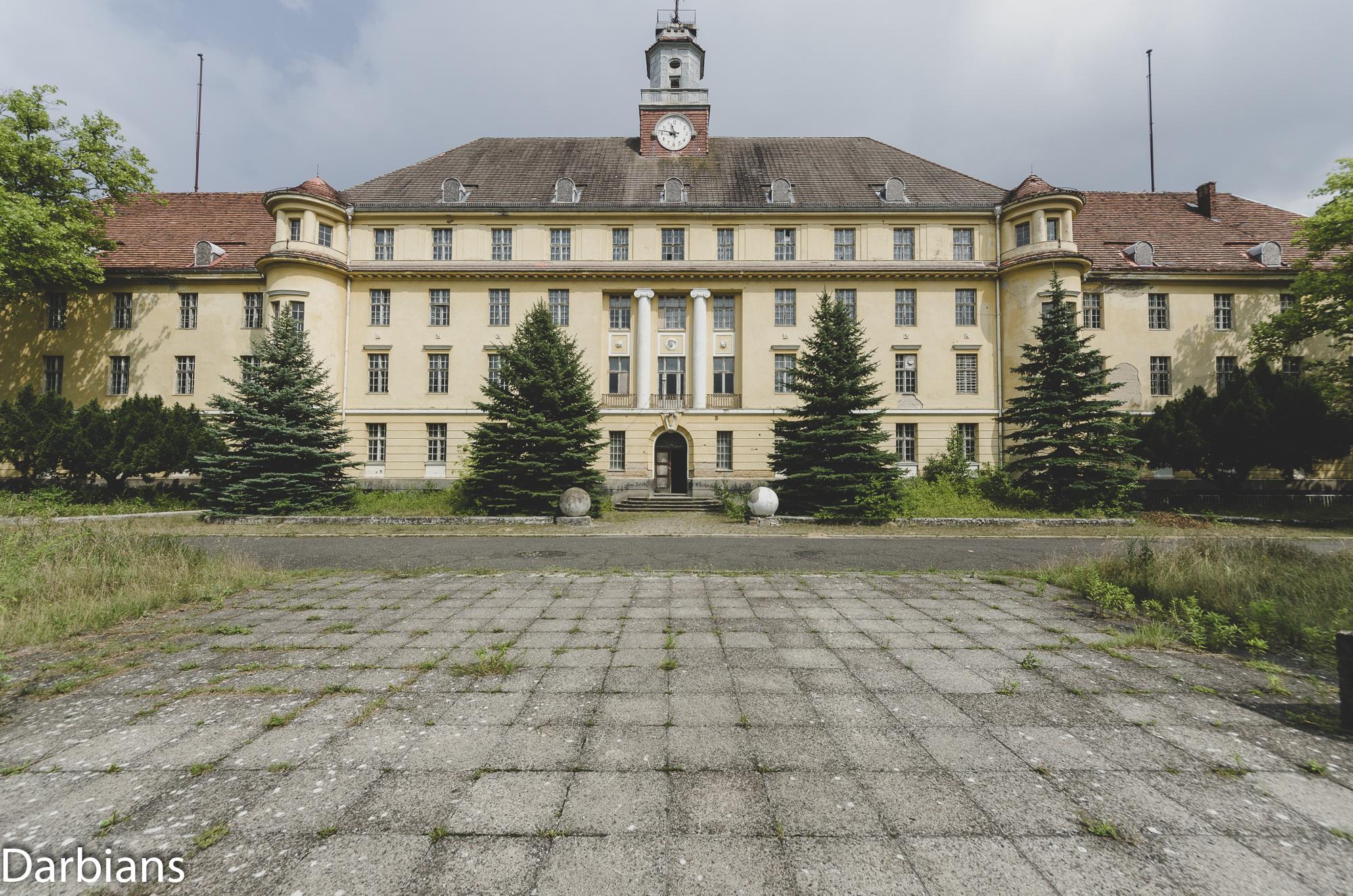 Haus Der Offiziere Wünsdorf Main Building