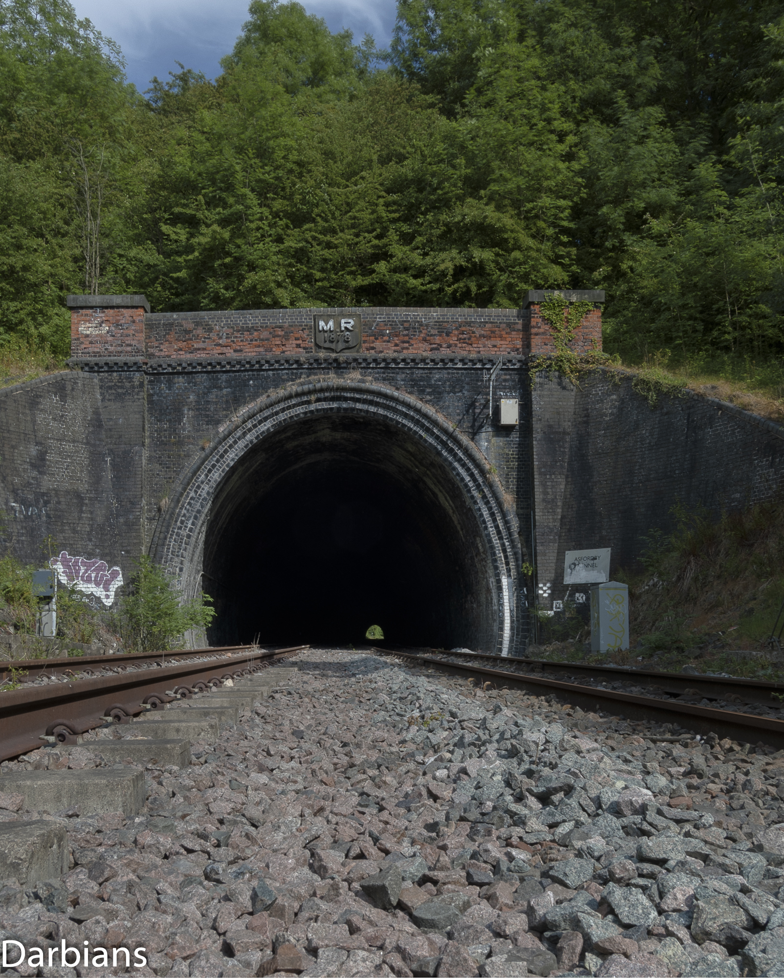 Old Dalby Test Track. Asfordby Tunnel Entrance