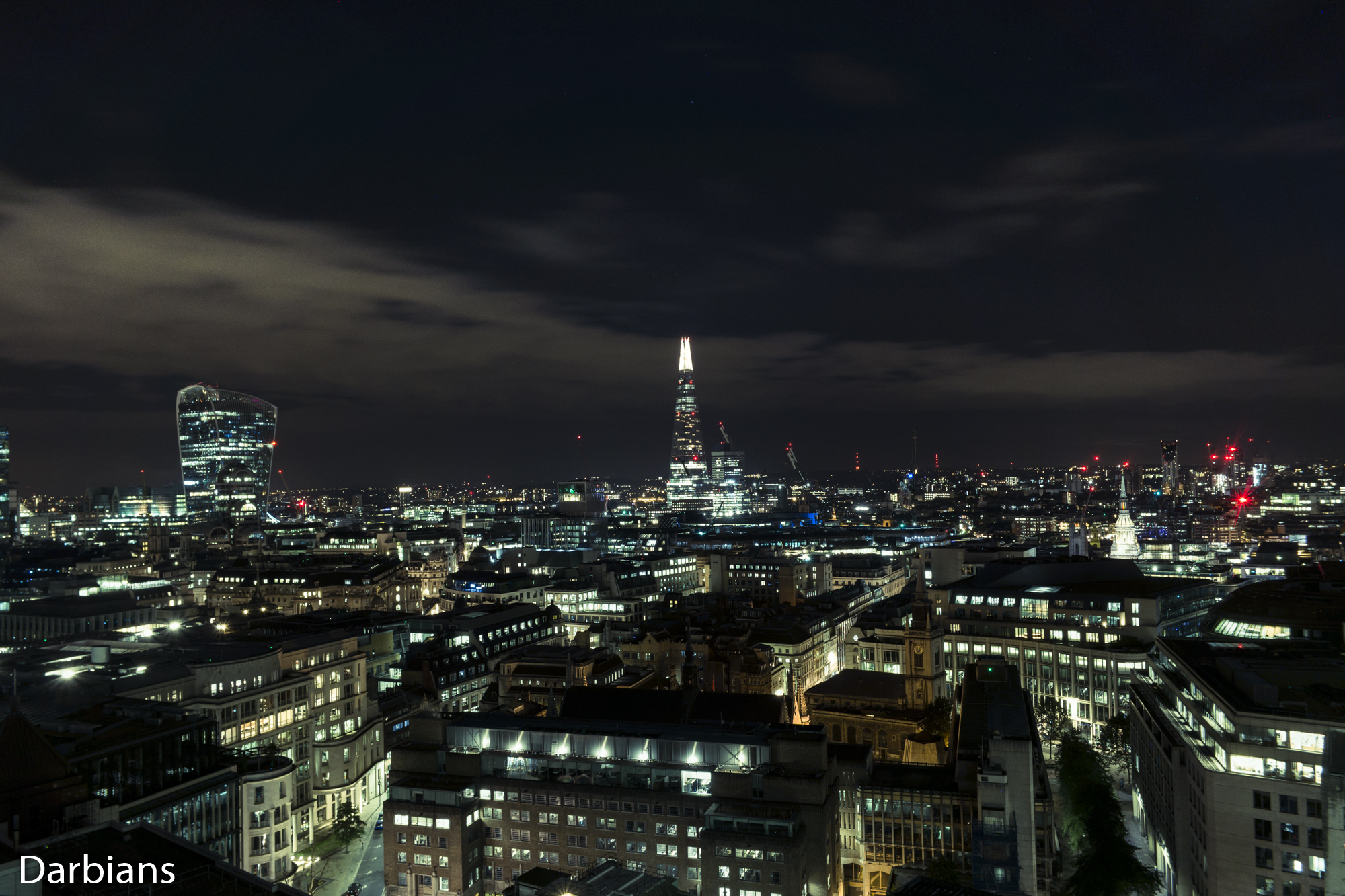 The Walkie Talkie and The Shard
