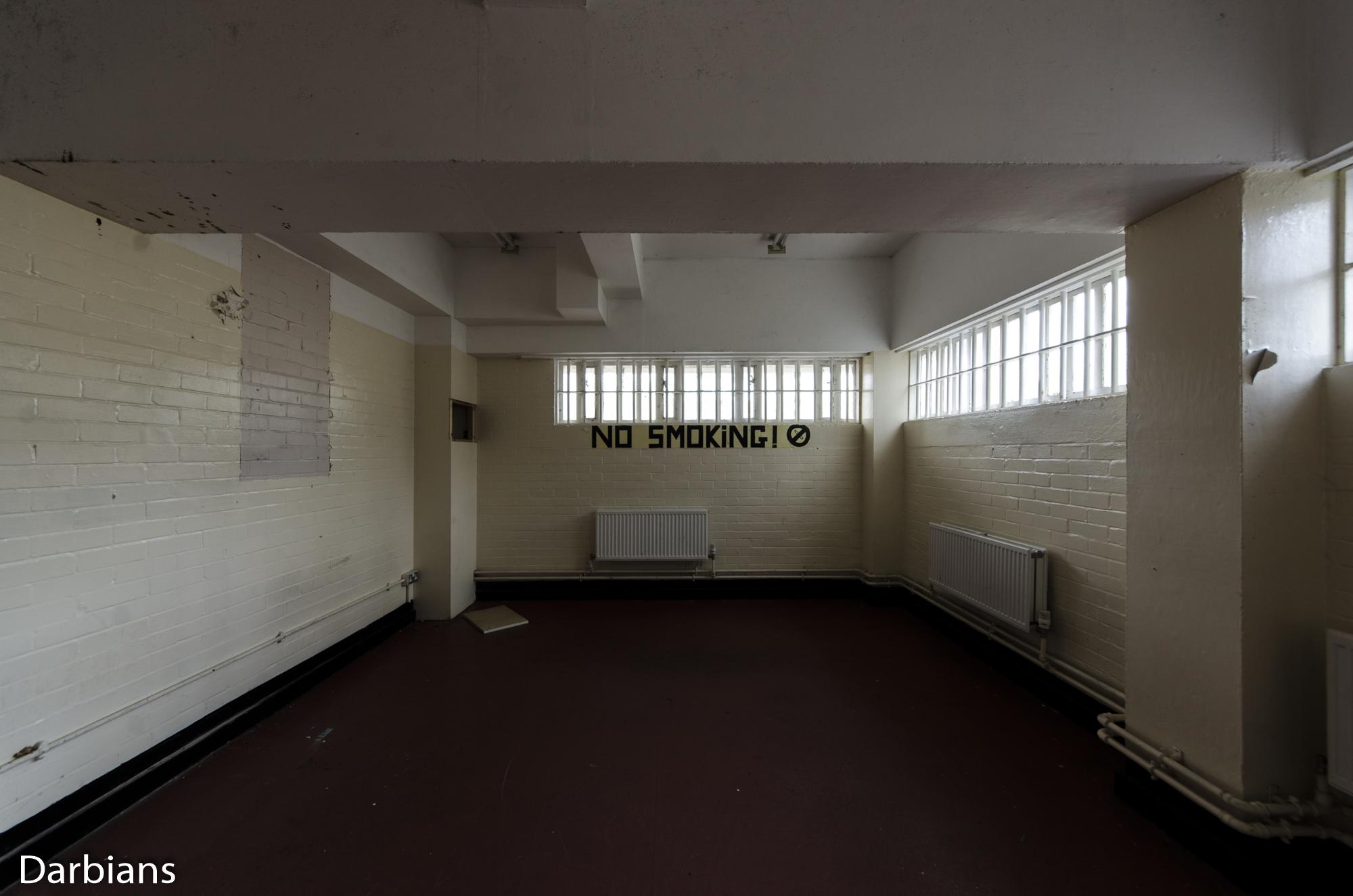 HMP Blundeston Prison. No Smoking.