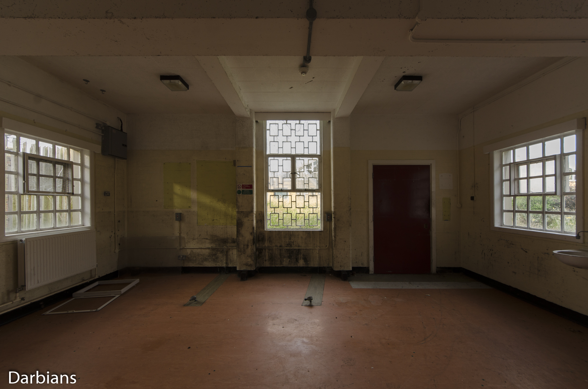 HMP Blundeston Prison. There were signs of decay.