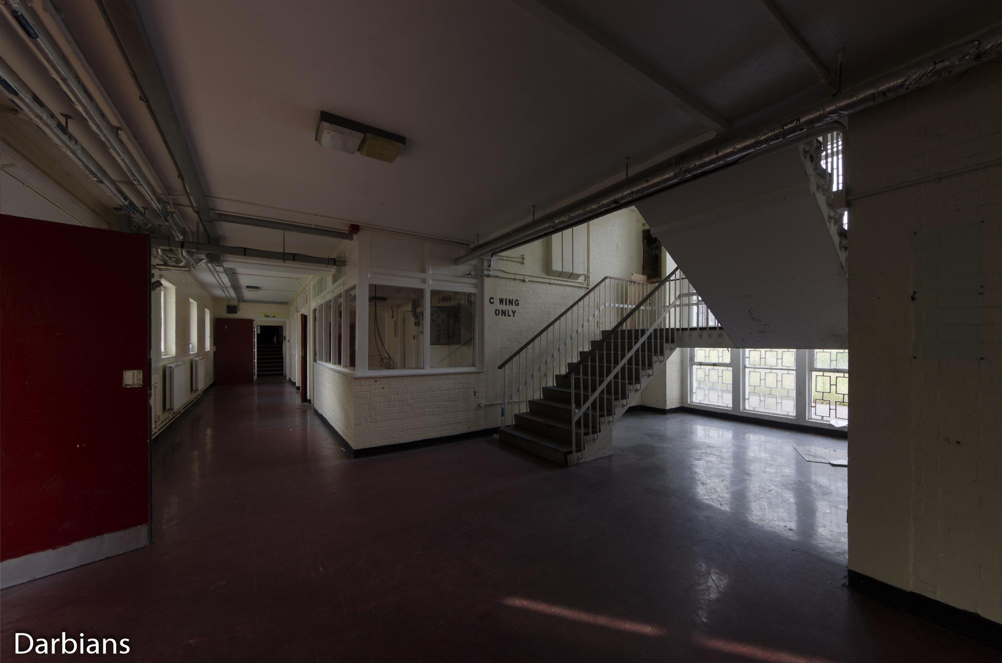 HMP Blundeston Prison. C Wing Staircase.