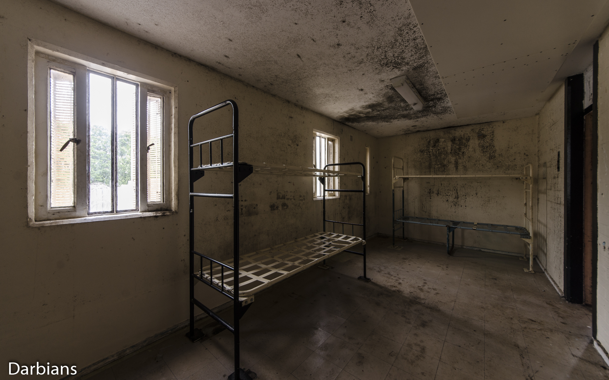 HMP Blundeston Prison. Another cell with decay.