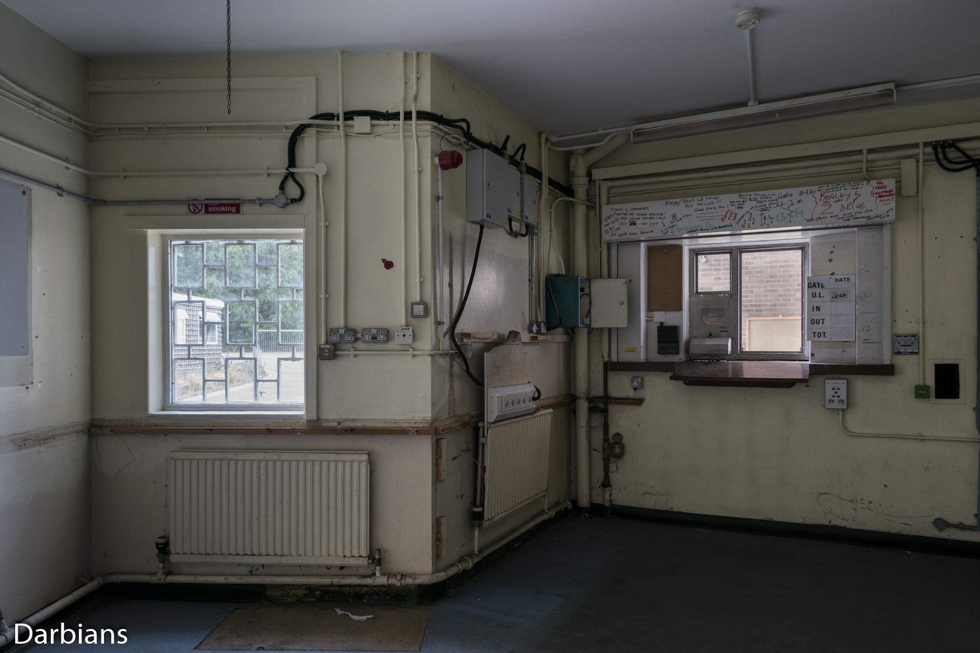 HMP Blundeston Prison. Gatehouse.