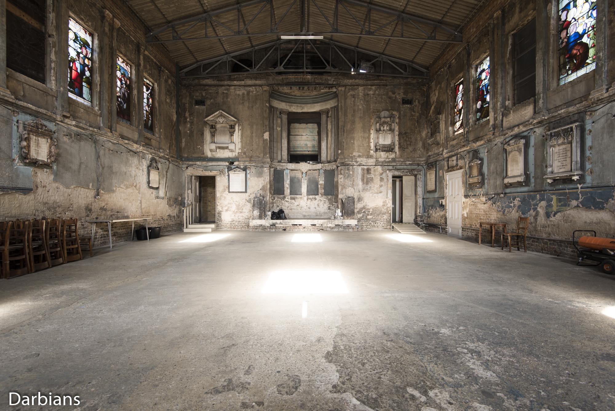 Asylum Chapel The only room.