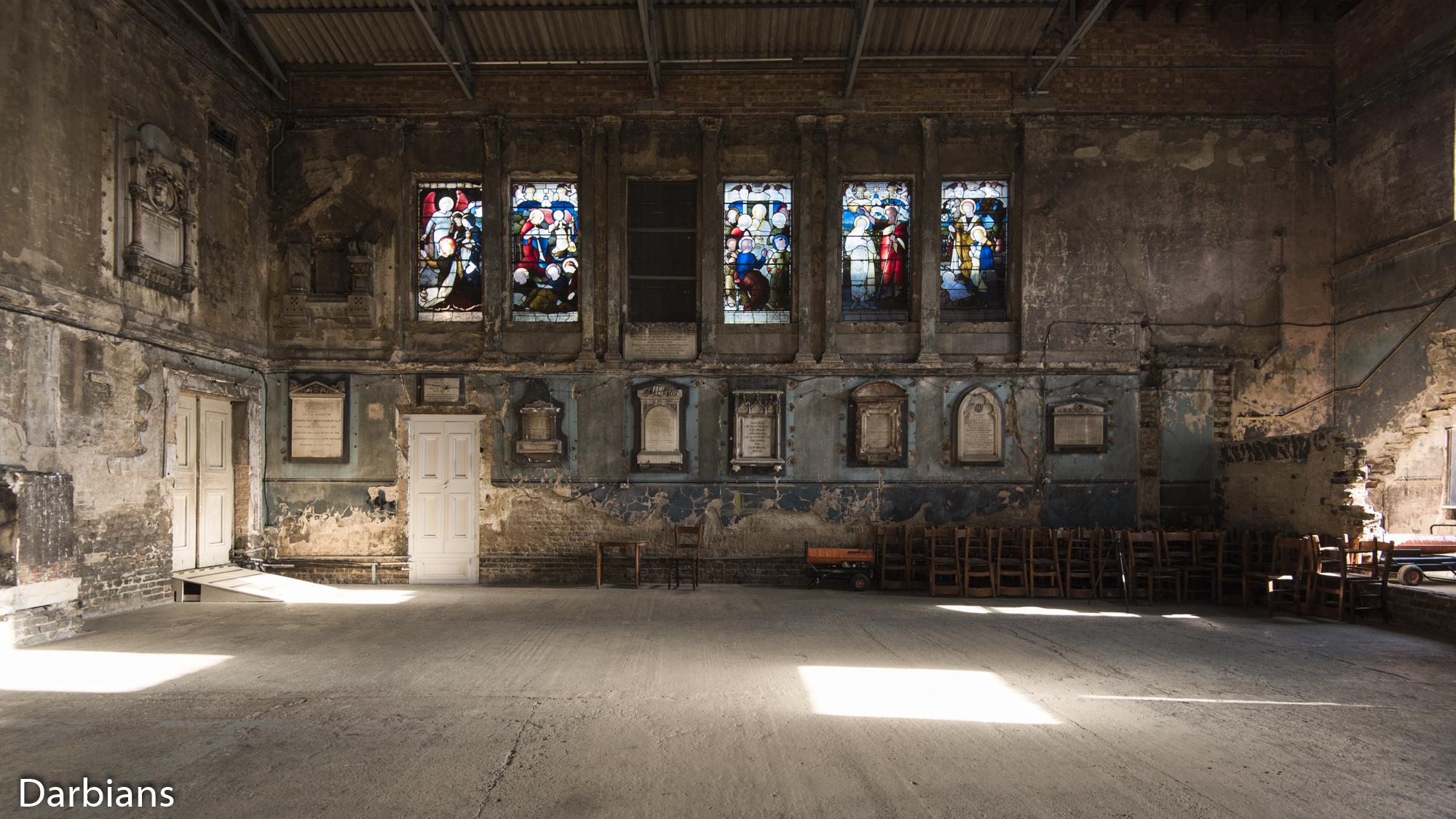 Asylum Chapel. Side view.