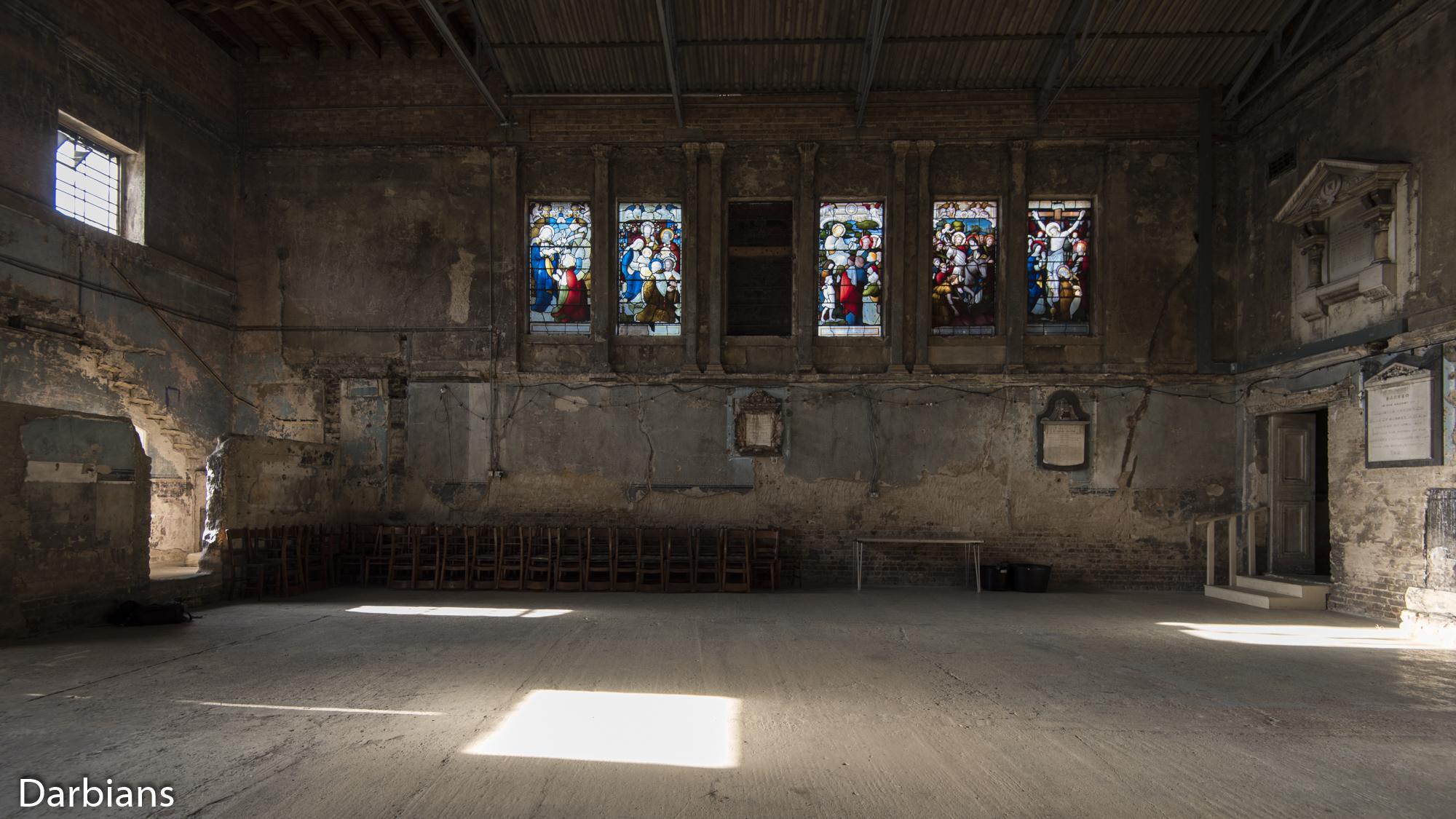 Asylum Chapel. Other side.
