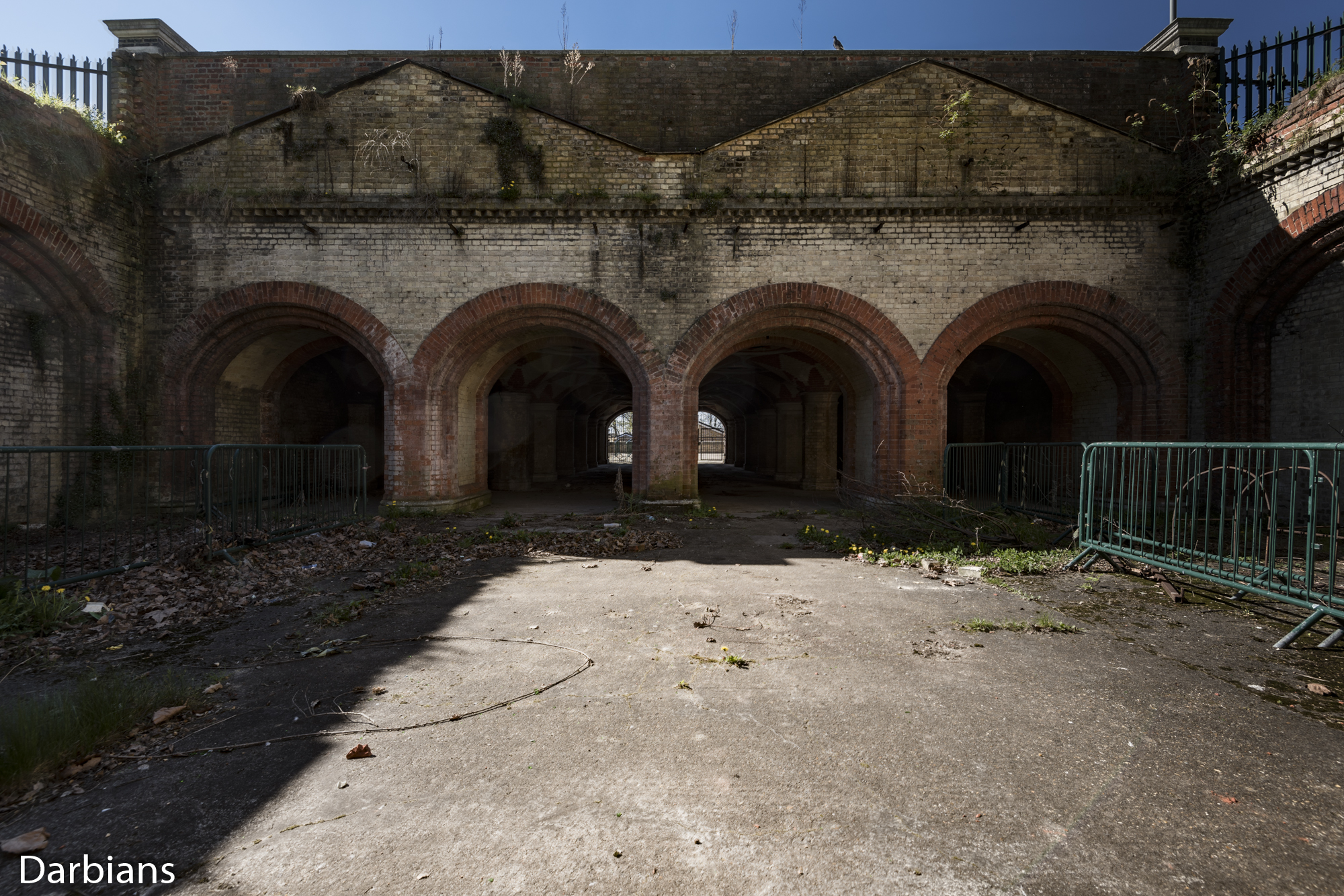 Crystal Palace Subway. Entrance park side