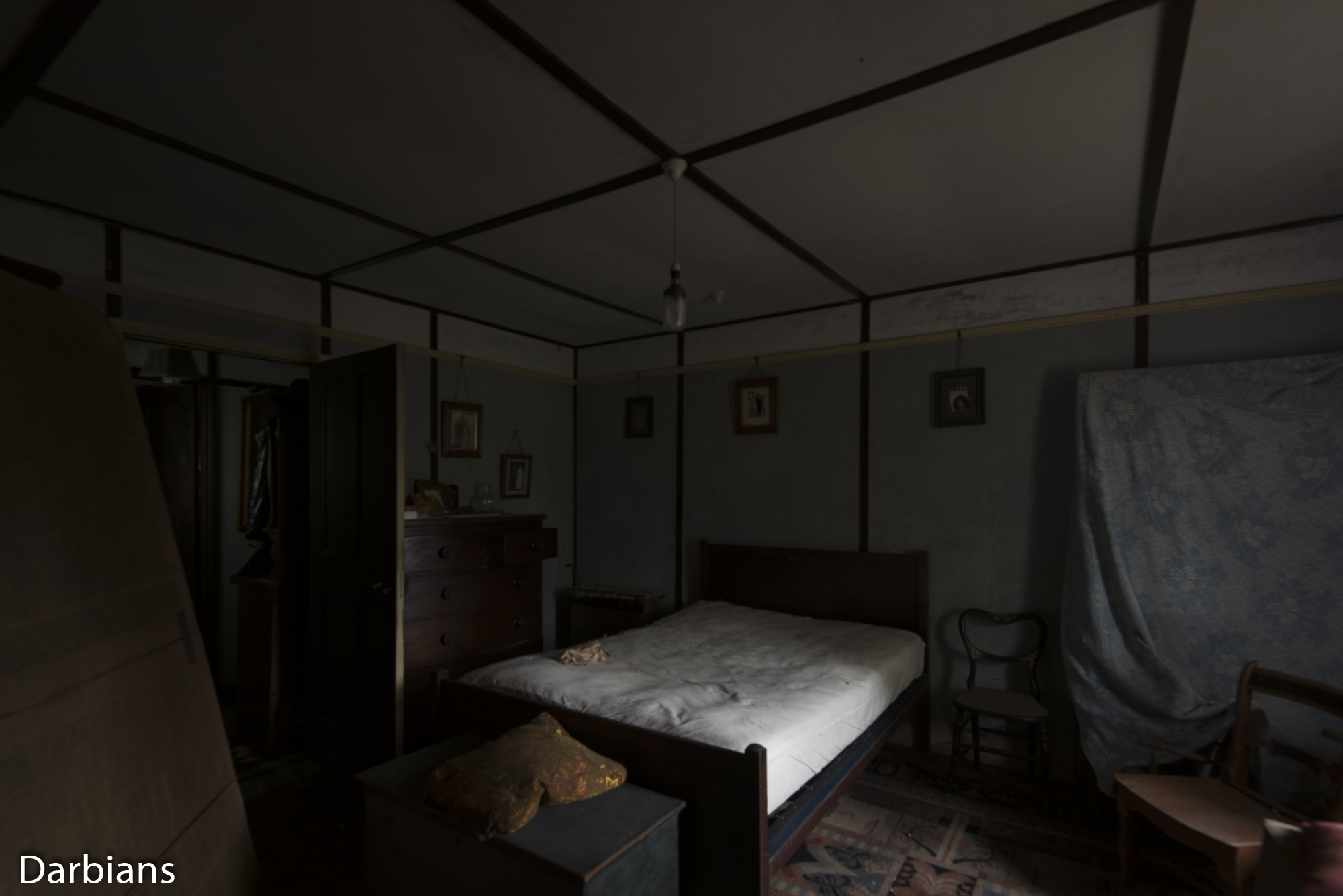 Essence House: Another angle of the bedroom.