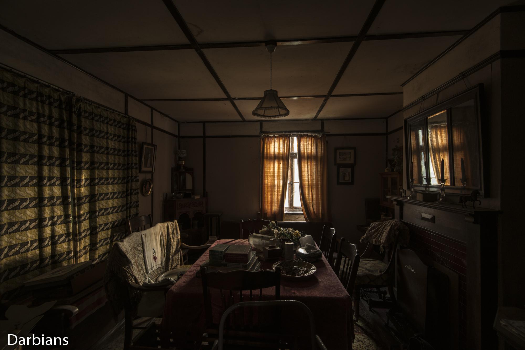 Essence House: Dining room.