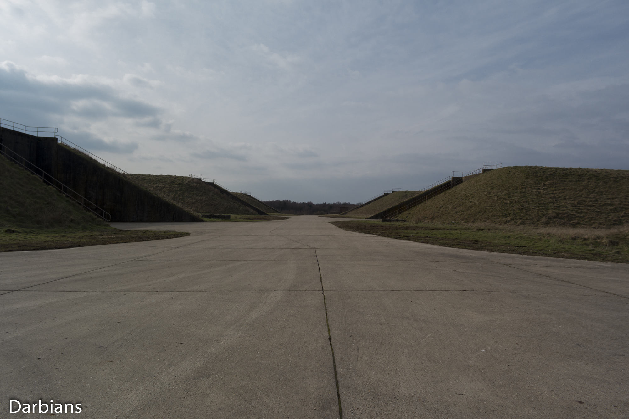 RAF Greenham Common: The main access to all the silos.
