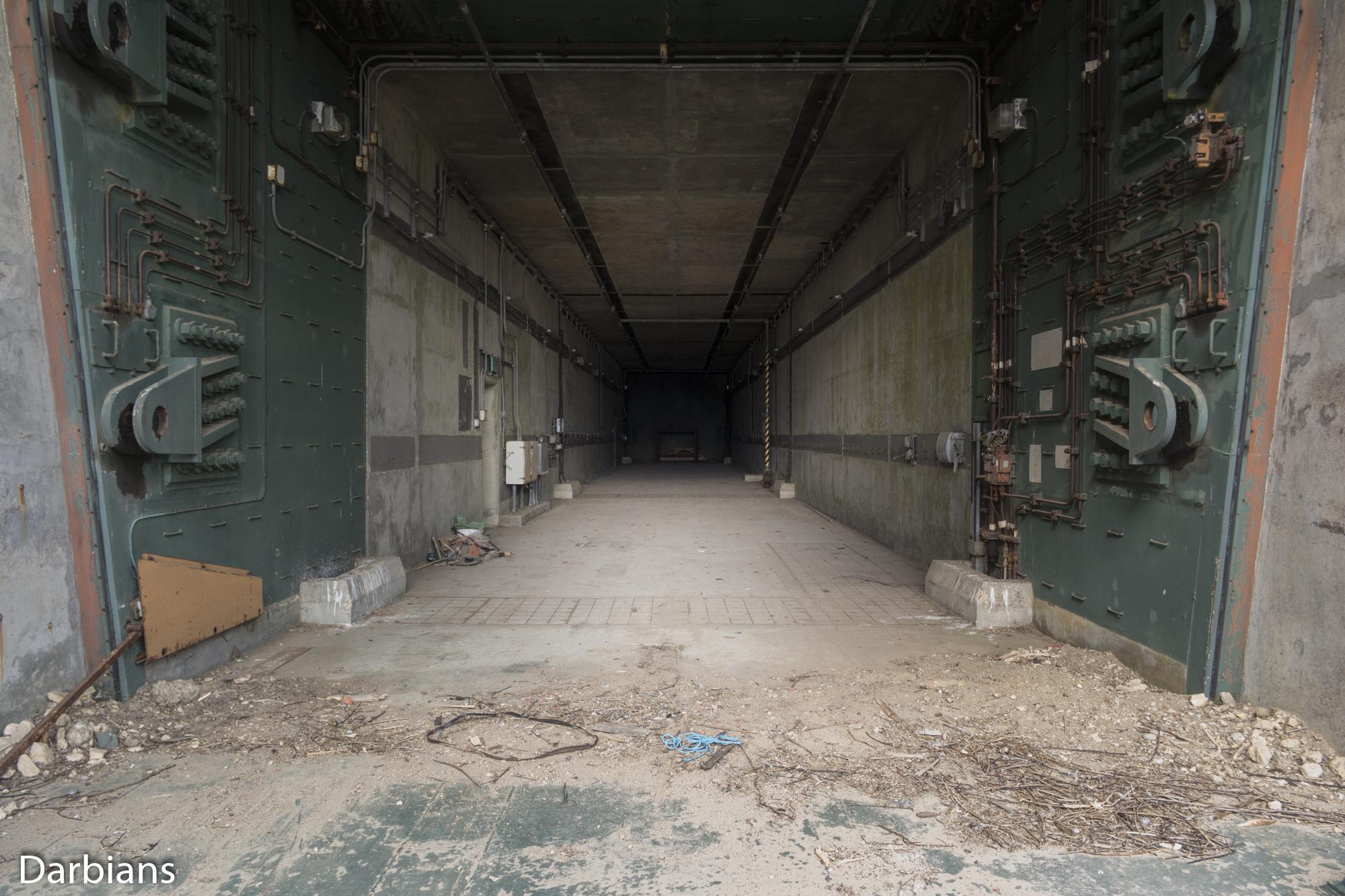 RAF Greenham Common: Some were left empty.