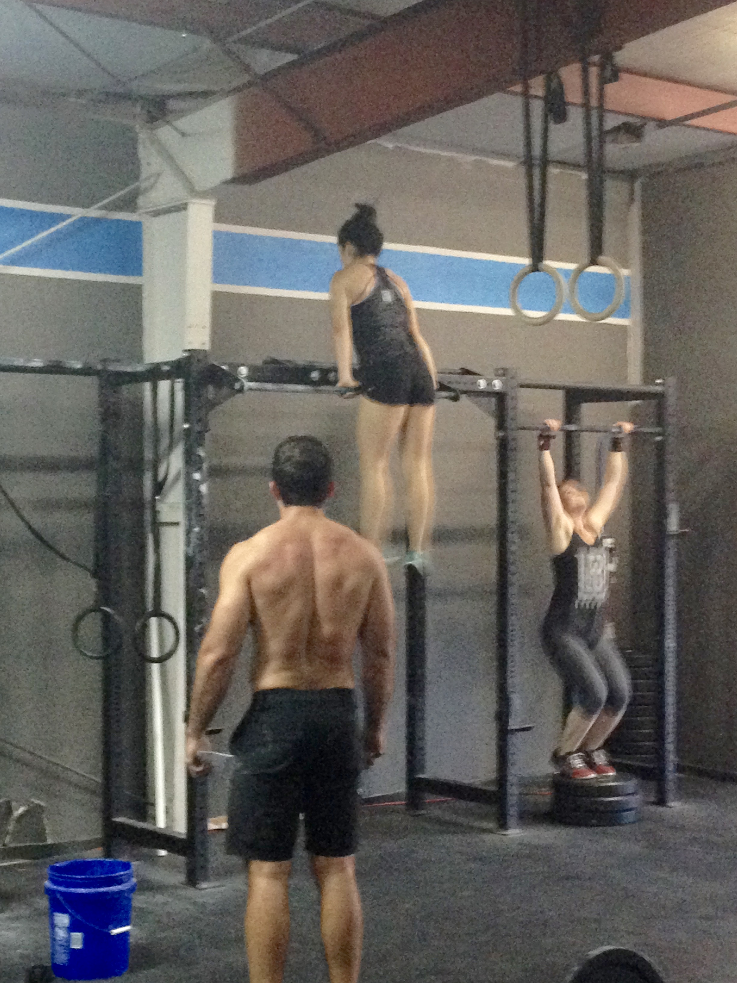 Open Workout 16.2 Last Year: Power Snatches & Muscle Ups OR Jumping Pull Ups