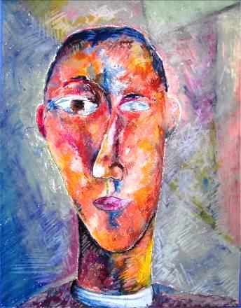 Autoportret Oil Pastel 2010