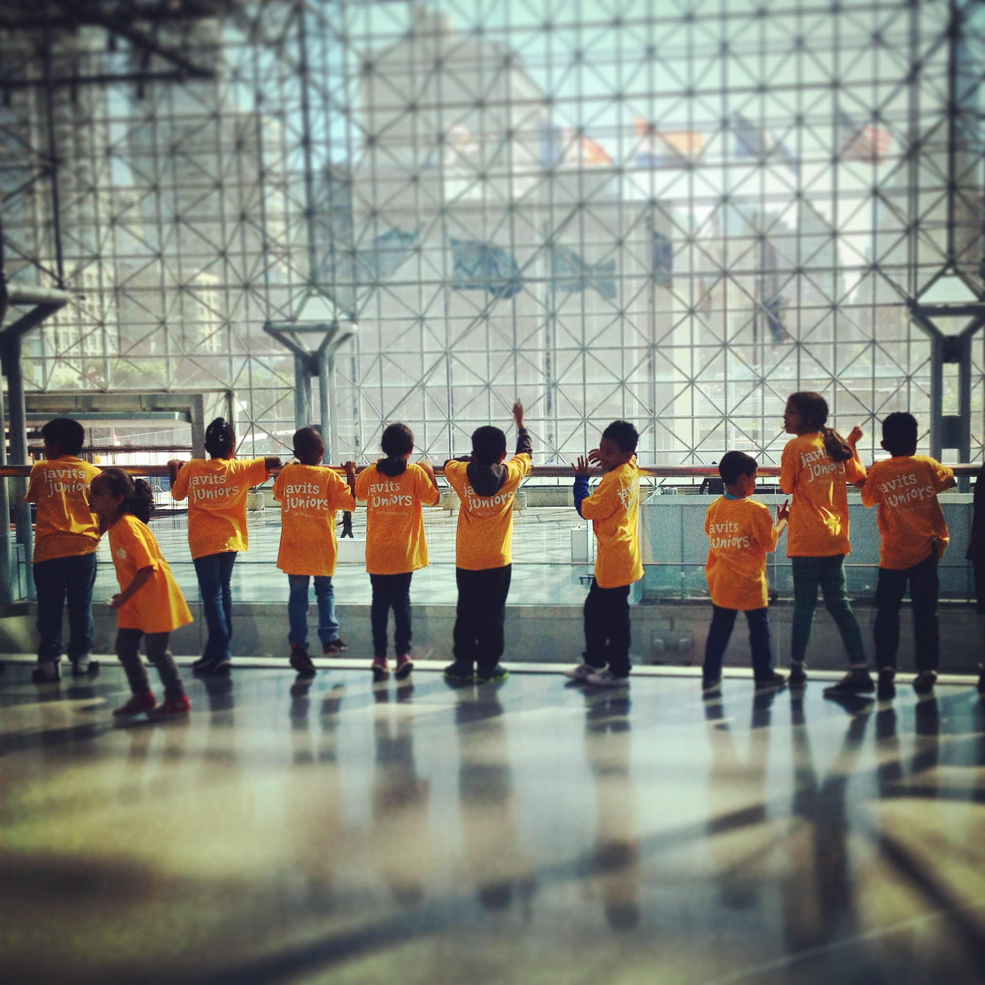 After School kids at the Javits Center