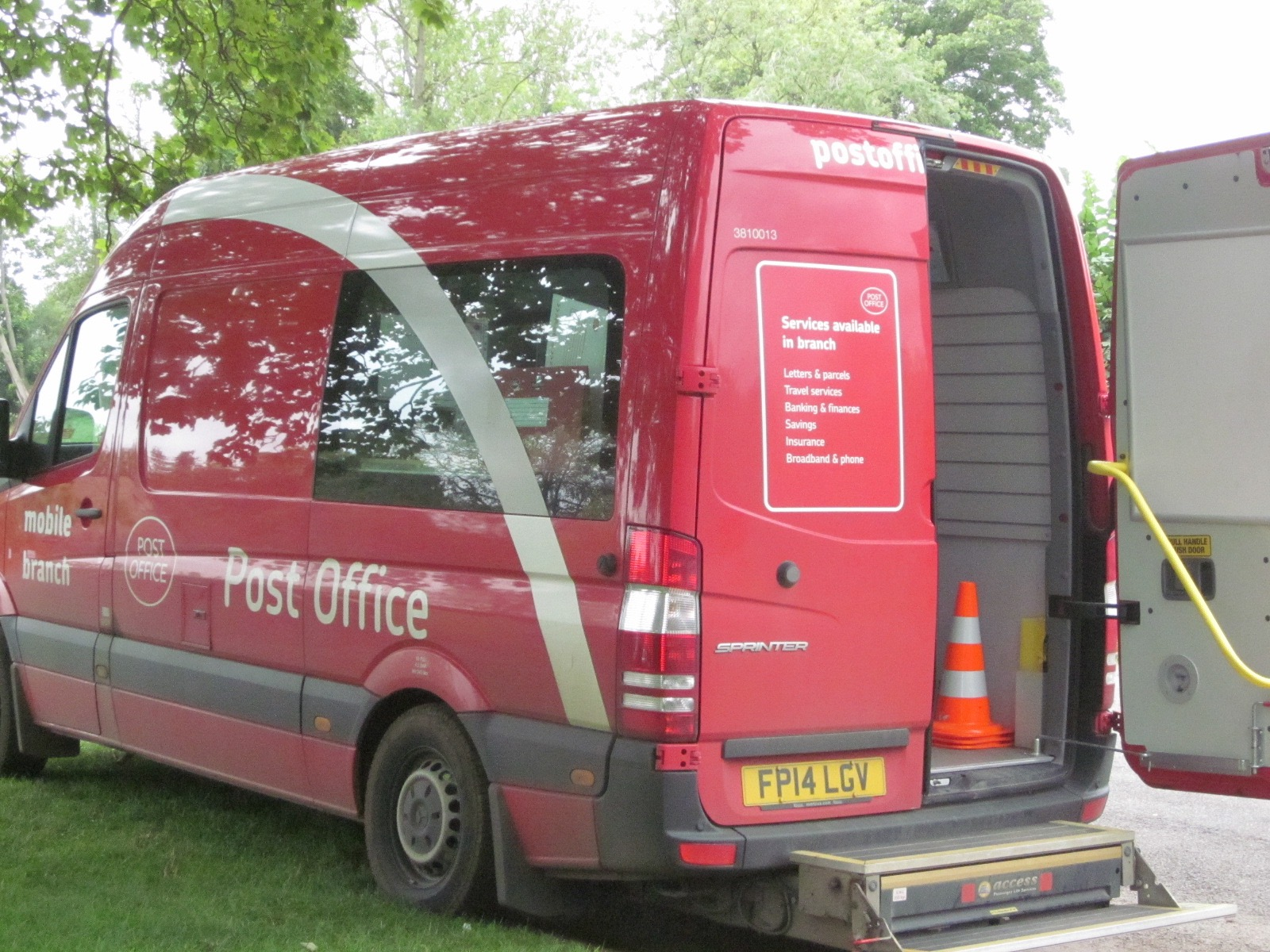 A mobile post office