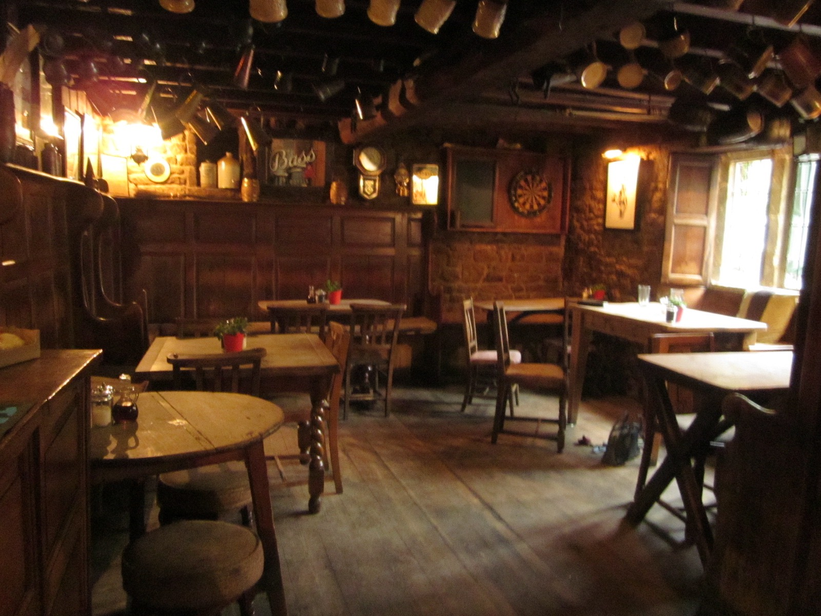 The Falkland Arms in Great Tew, a beautiful old pub, that looks movie-set perfect.