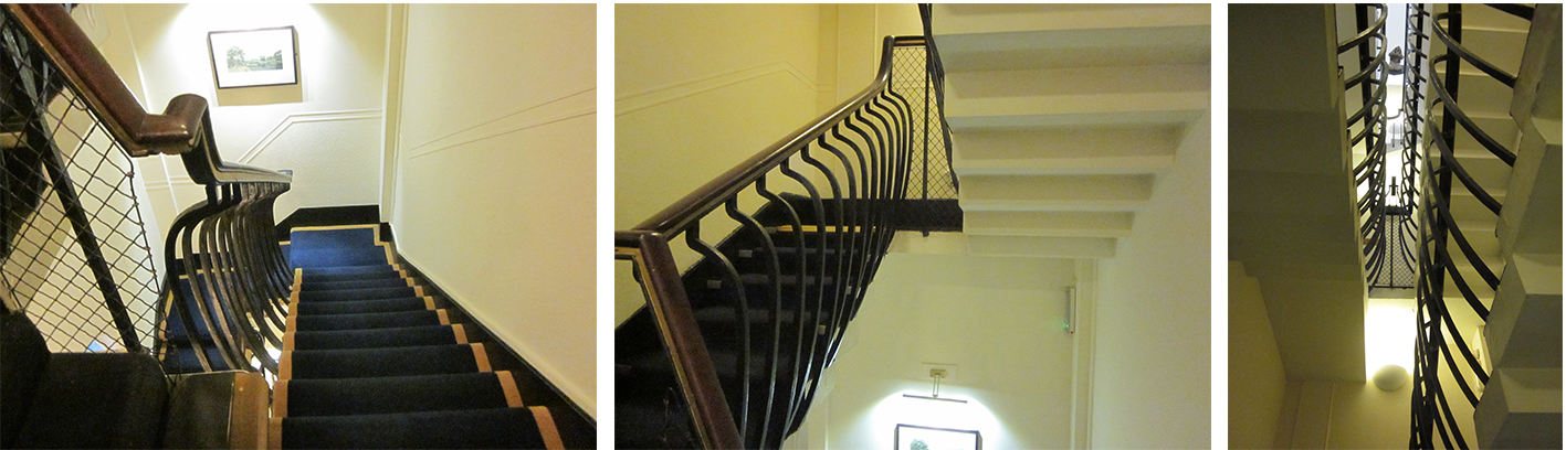 The Crinoline Staircase in the Royal Overseas League (nee Rutland House)