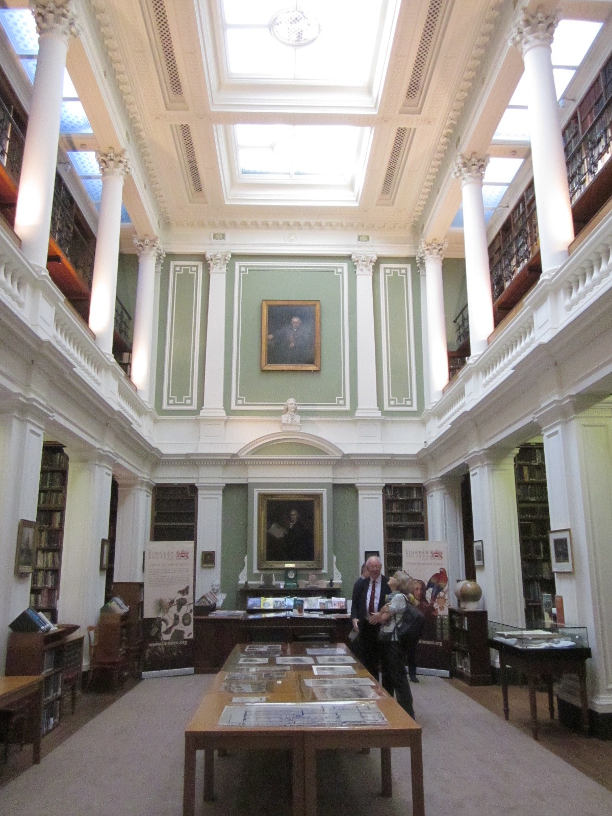The Linnean Society library