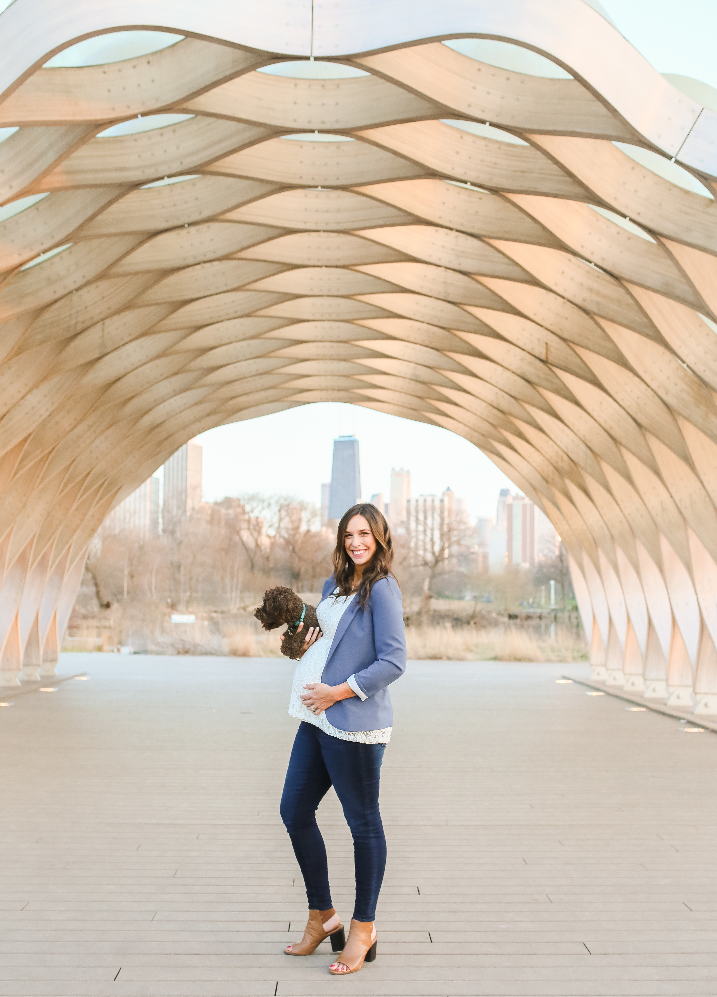 lincoln park maternity session