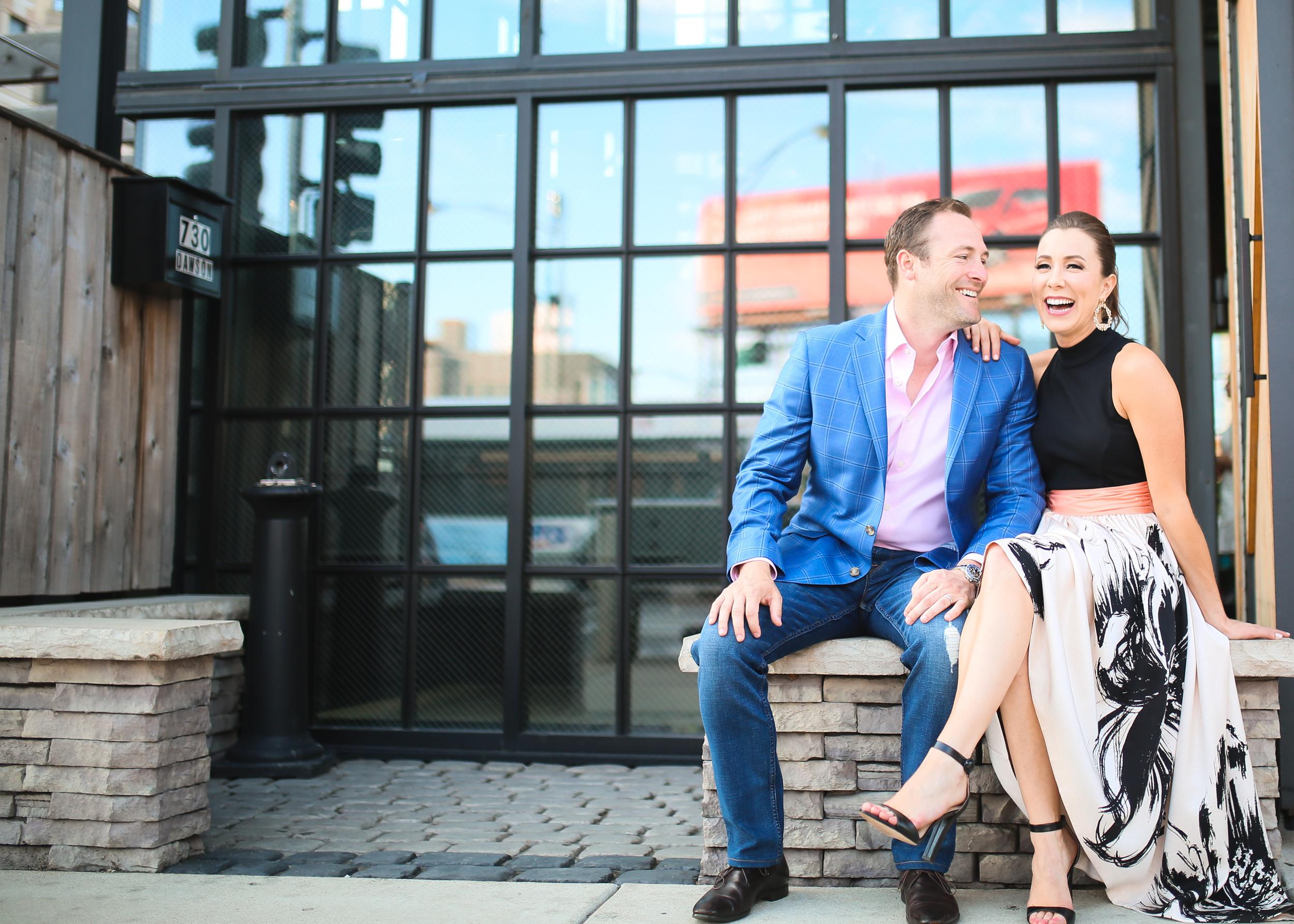 chicago newlyweds sitting