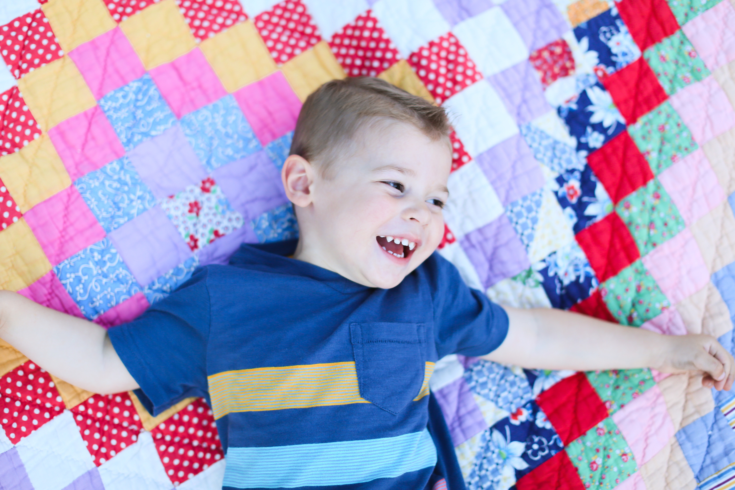 chicago toddler boy laugh