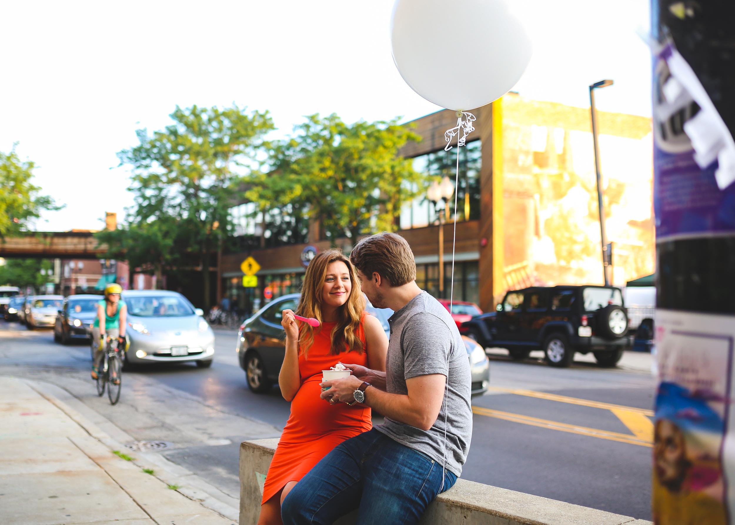 chicago pregnant icecream