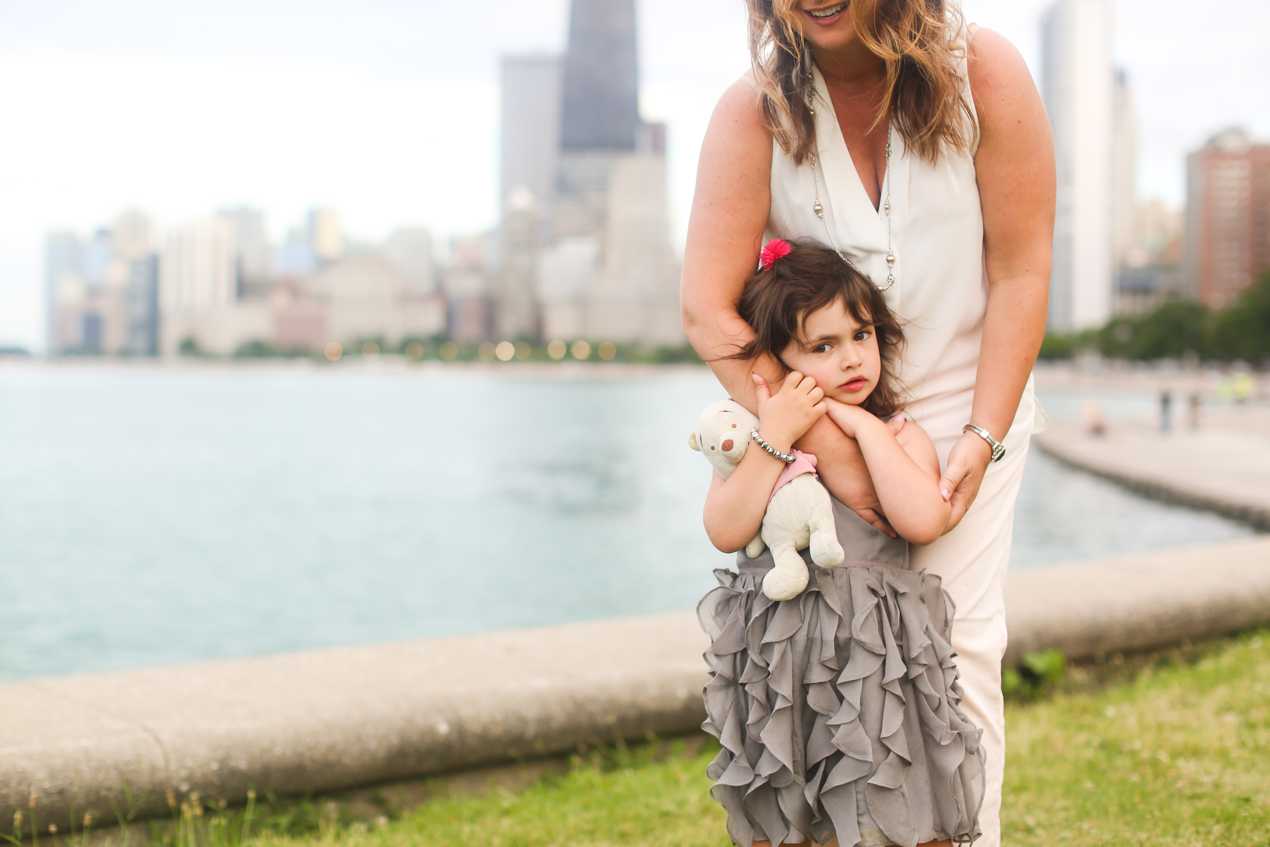 chicago girl with mommy