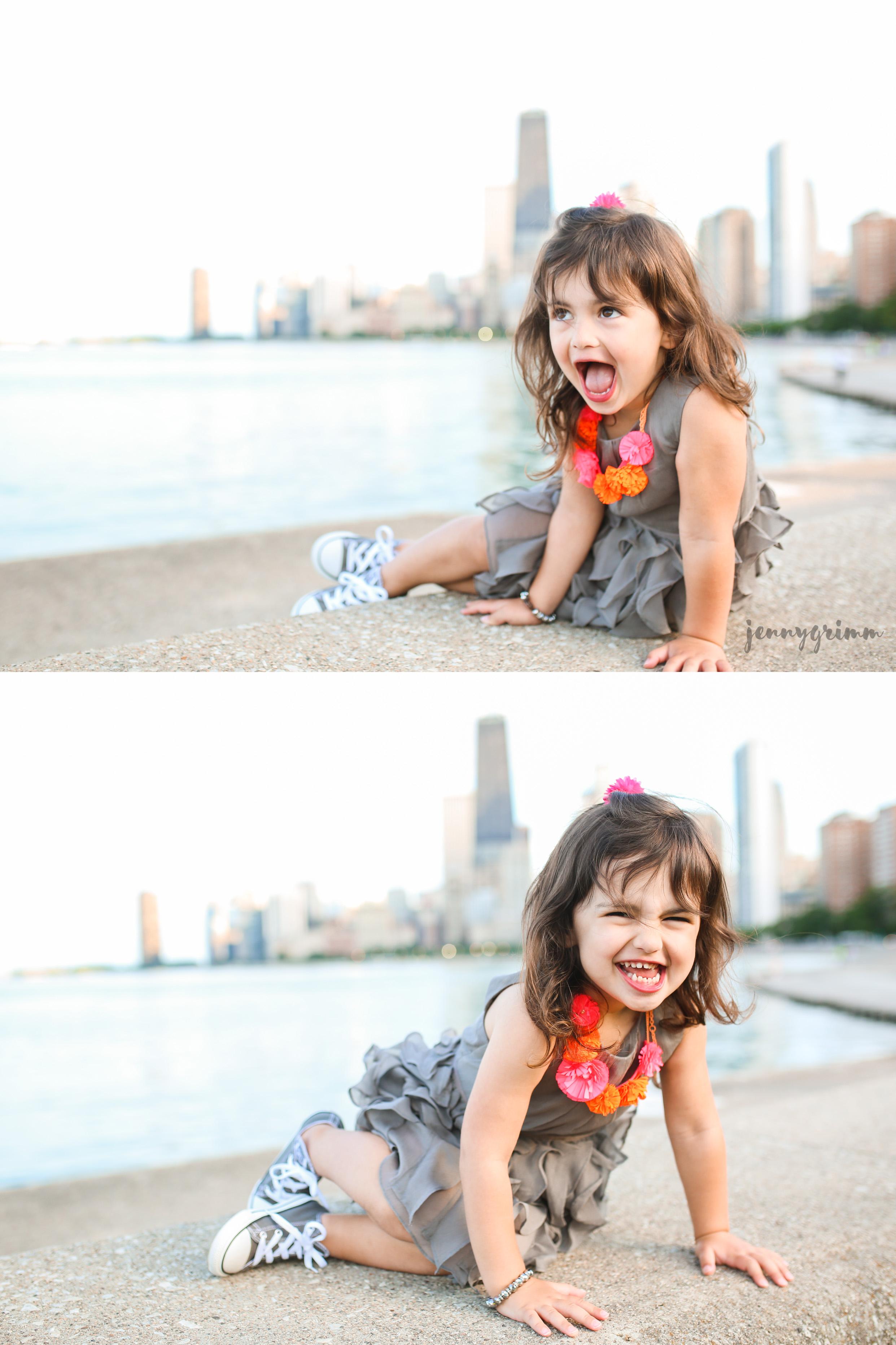 child portrait collage lifestyle chicago