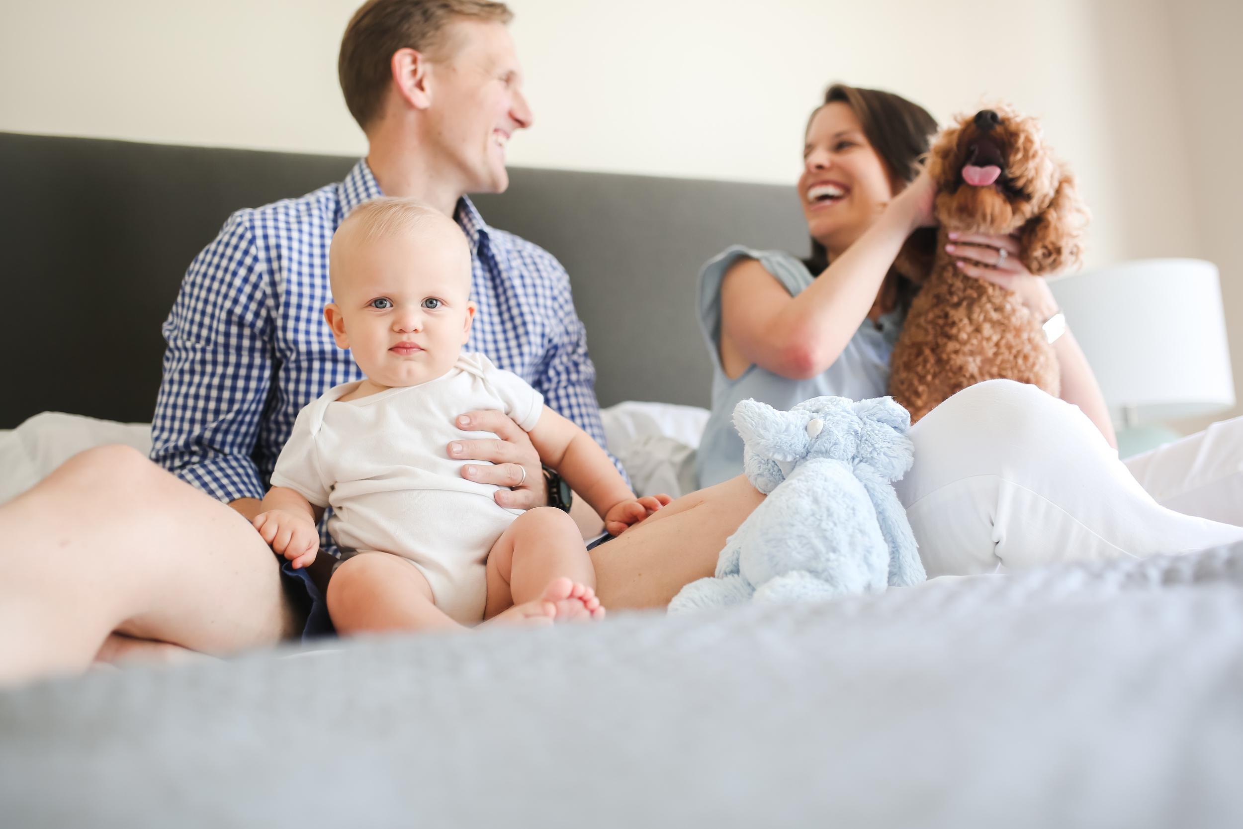 chicago lifestyle baby family photographer