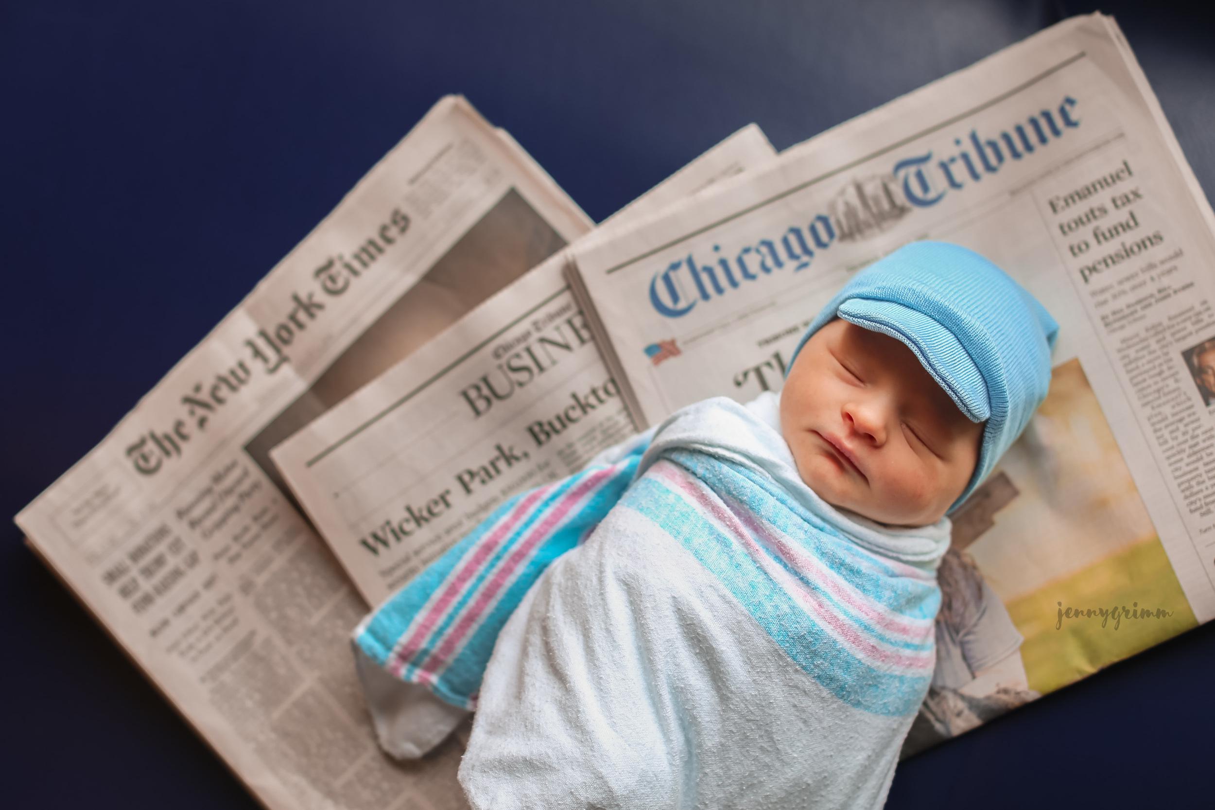 chicago newborn photographer jenny grimm