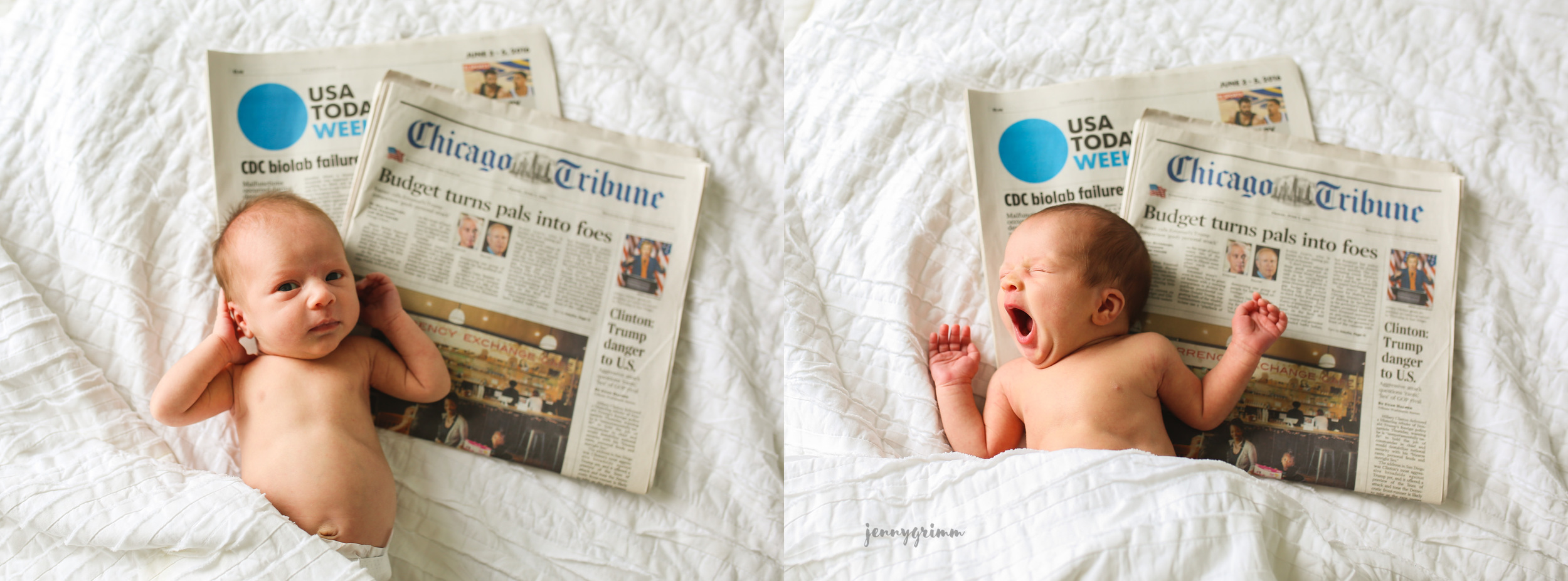 chicago twin newborn photographer jenny grimm