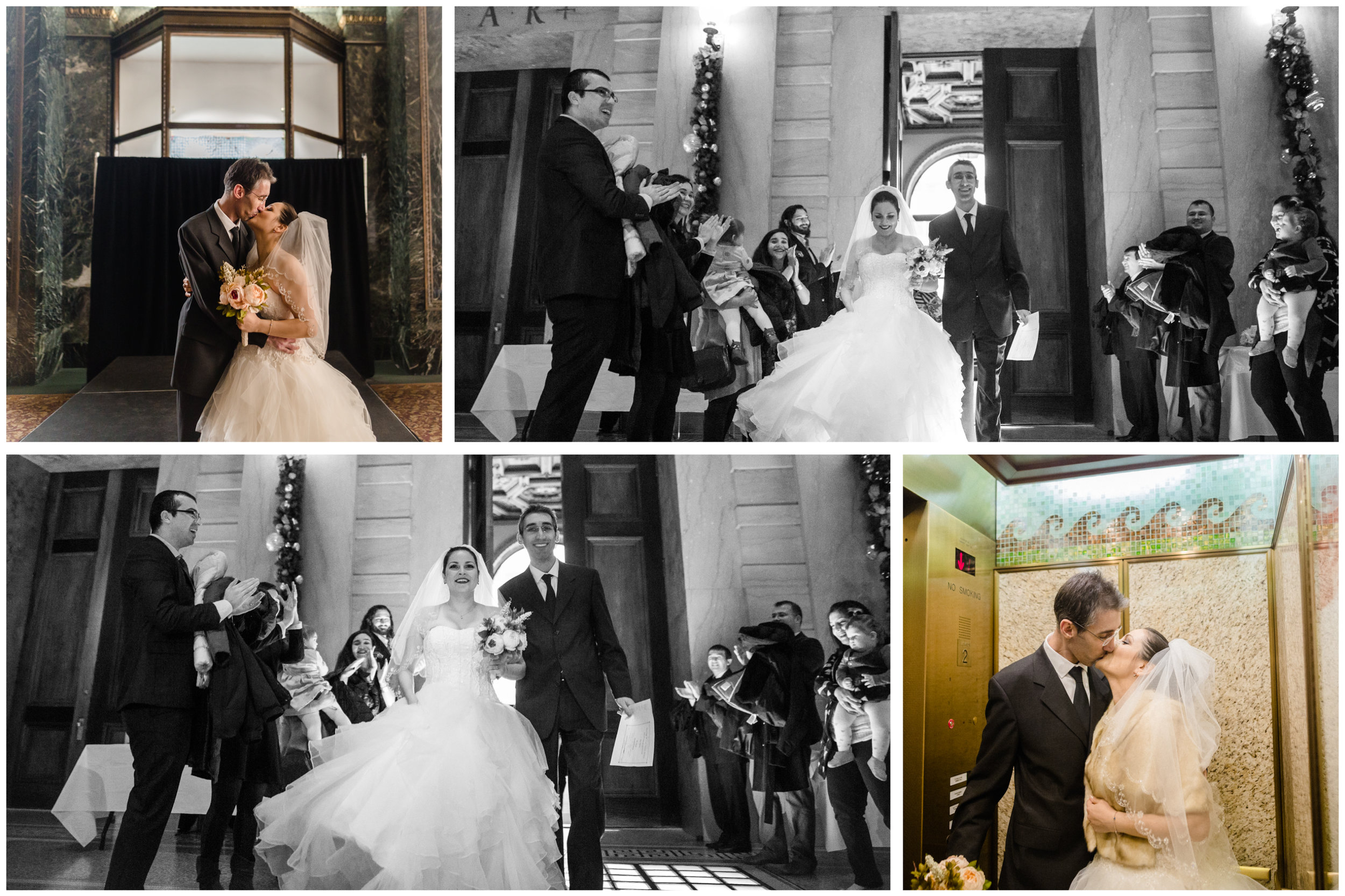 jenny grimm photography chicago cultural center wedding elopement marriage