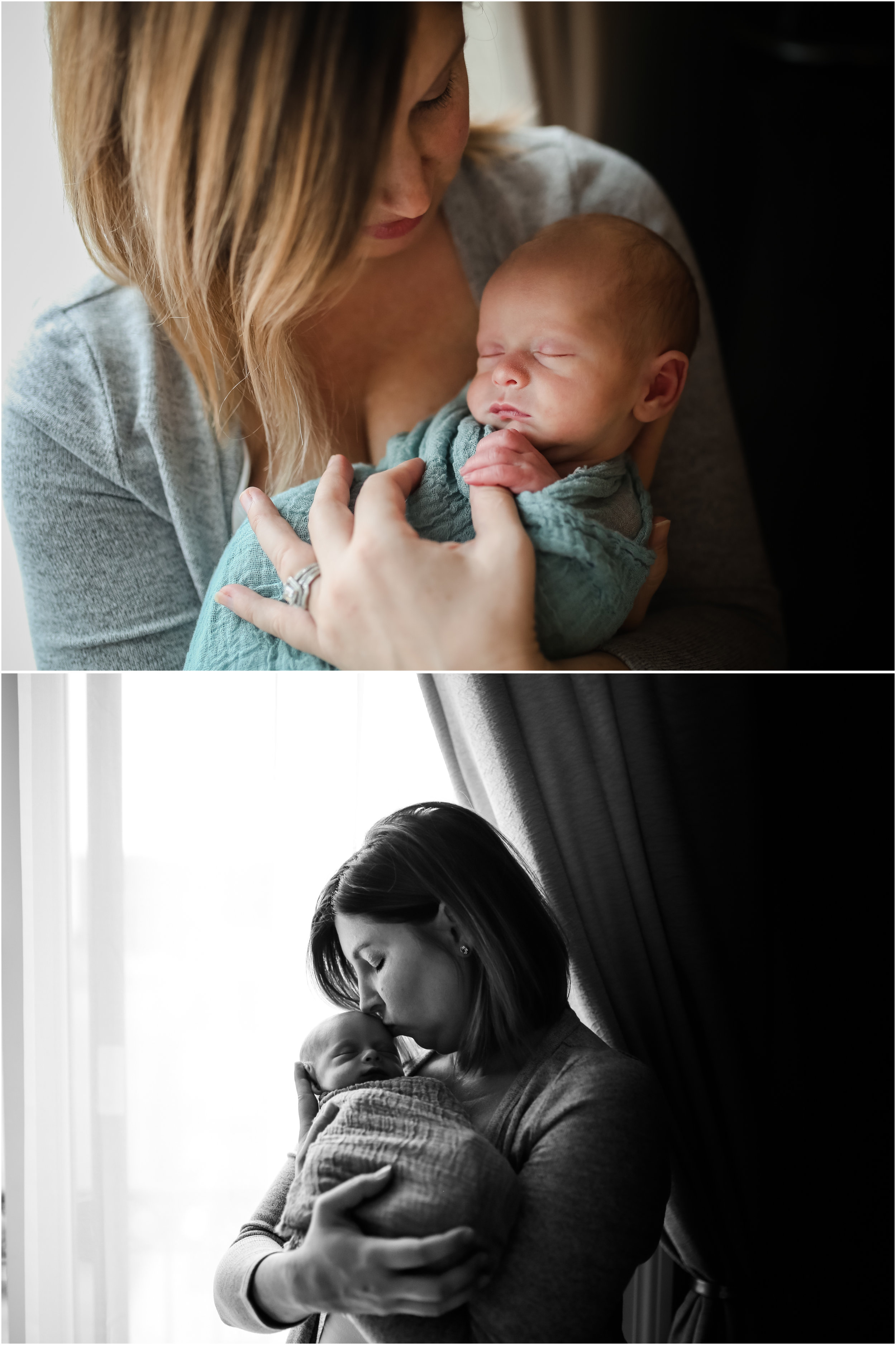 jenny grimm photography chicago newborn baby dog lifestyle home session