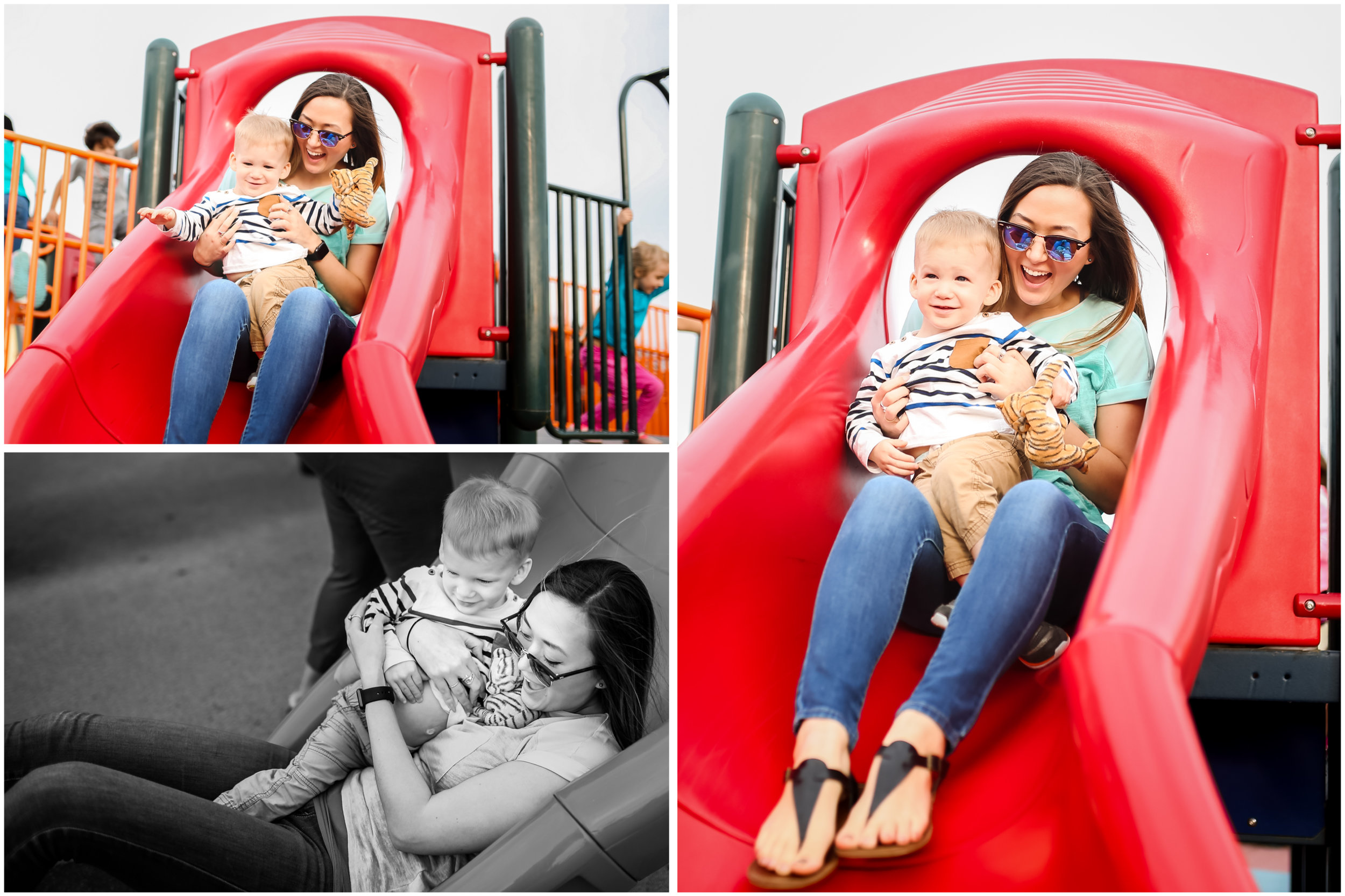 chicago family lifestyle park slide photographer jenny grimm photography