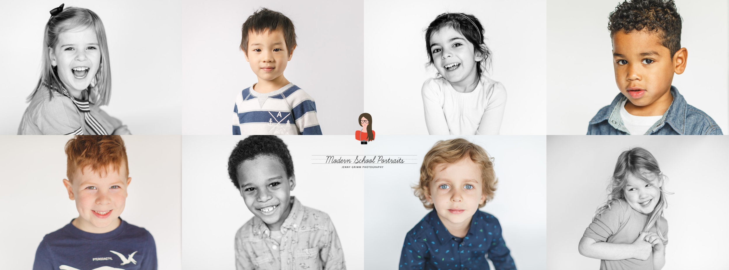 CHICAGO preschool lifestyle portraits modern school photography jenny grimm
