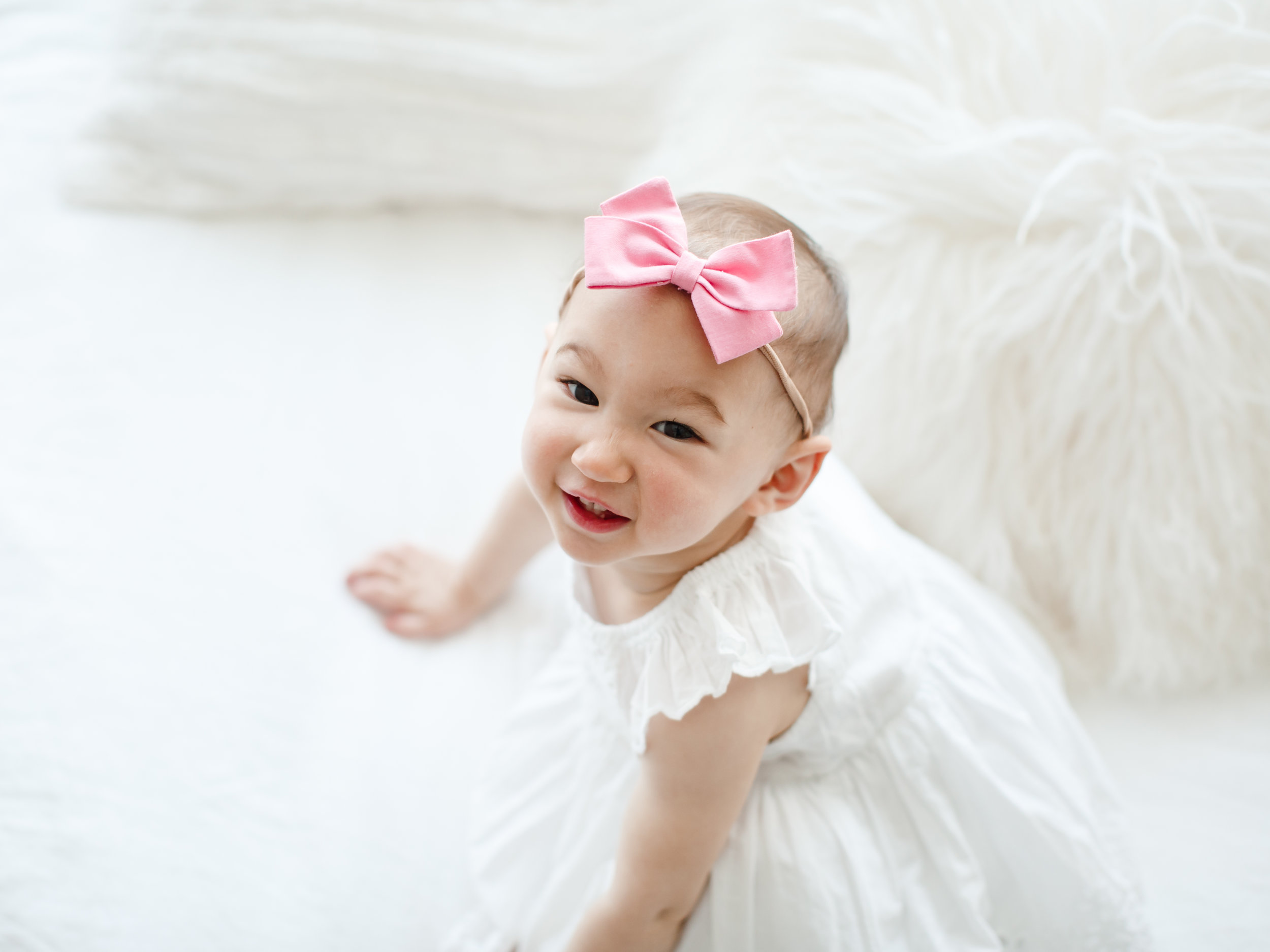 chicago baby lifestyle photographer jenny grimm baby birthday studio