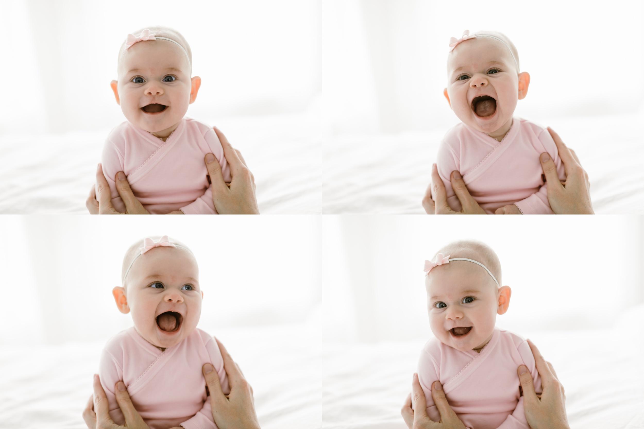 chicago baby lifestyle photographer jenny grimm photography milestone studio session