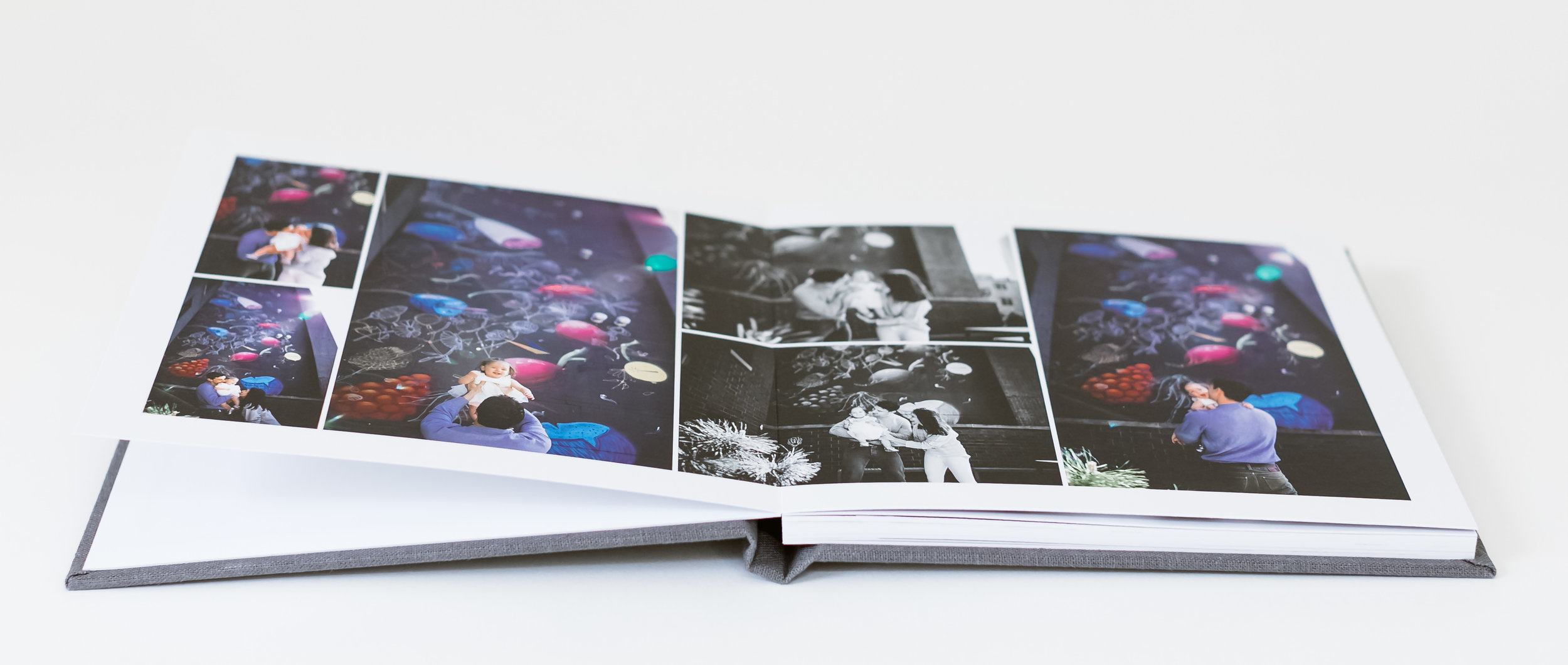 Sample Modern Family Album | Included as a part of a package option