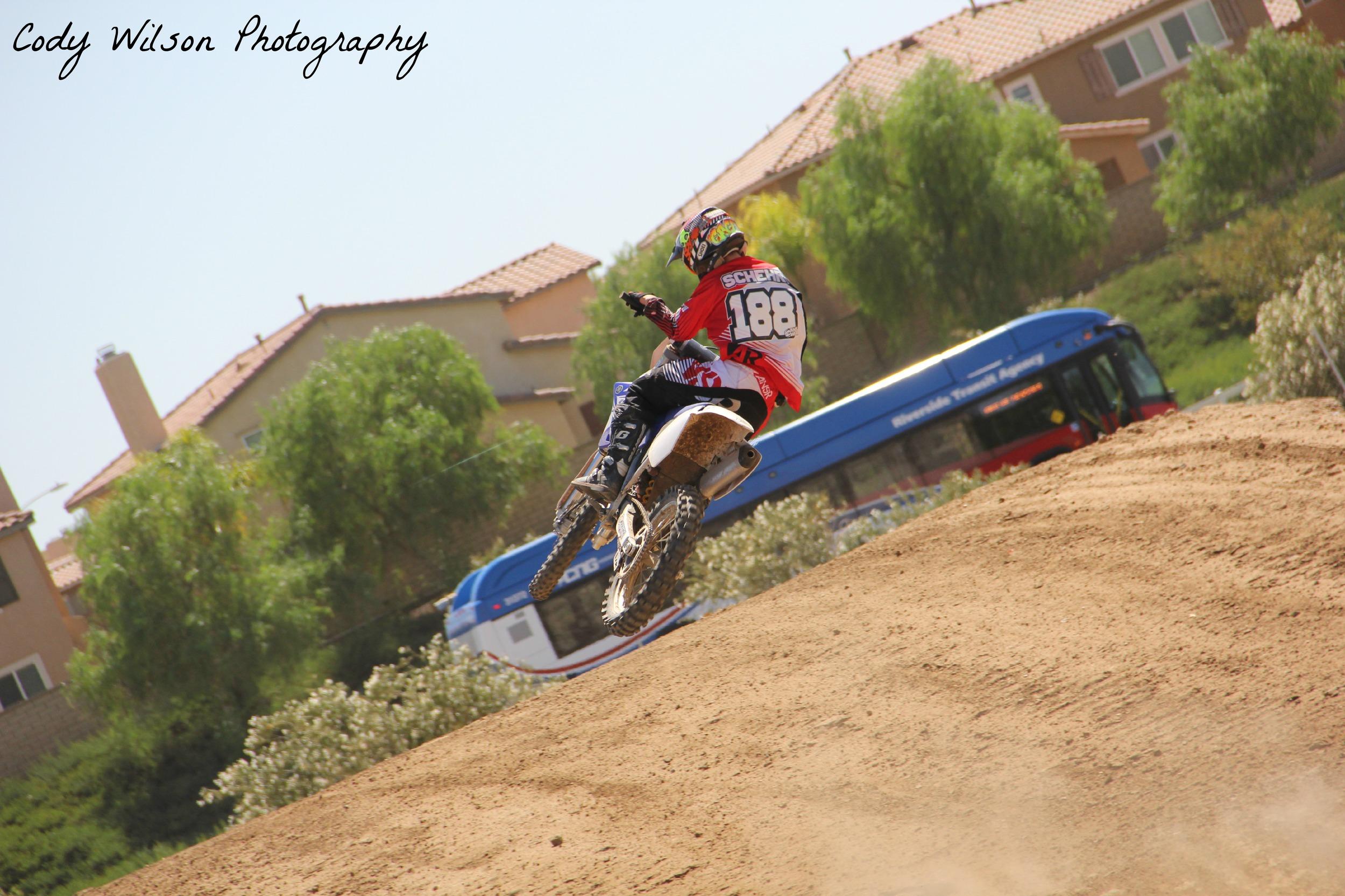 Gage Schehr rippin on his YZ125