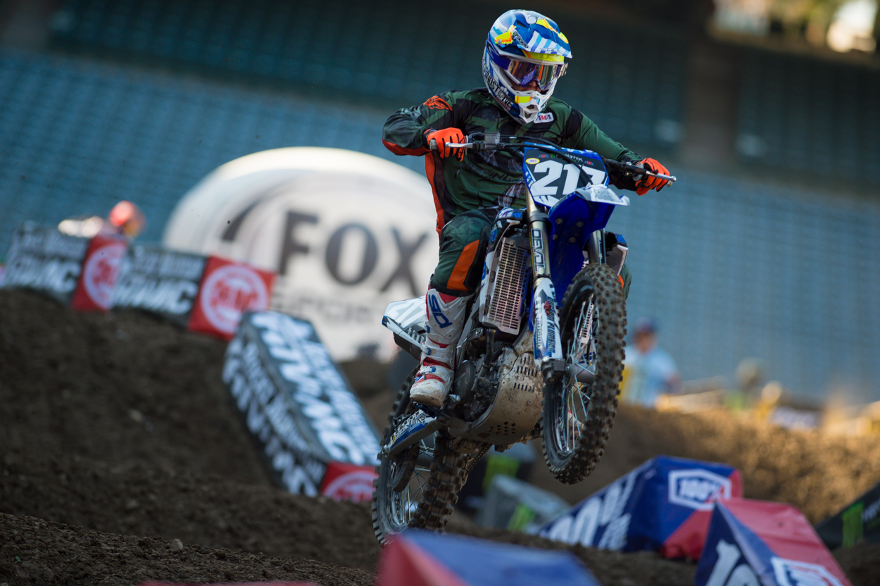 Ryan Breece laying down some solid laps at A1