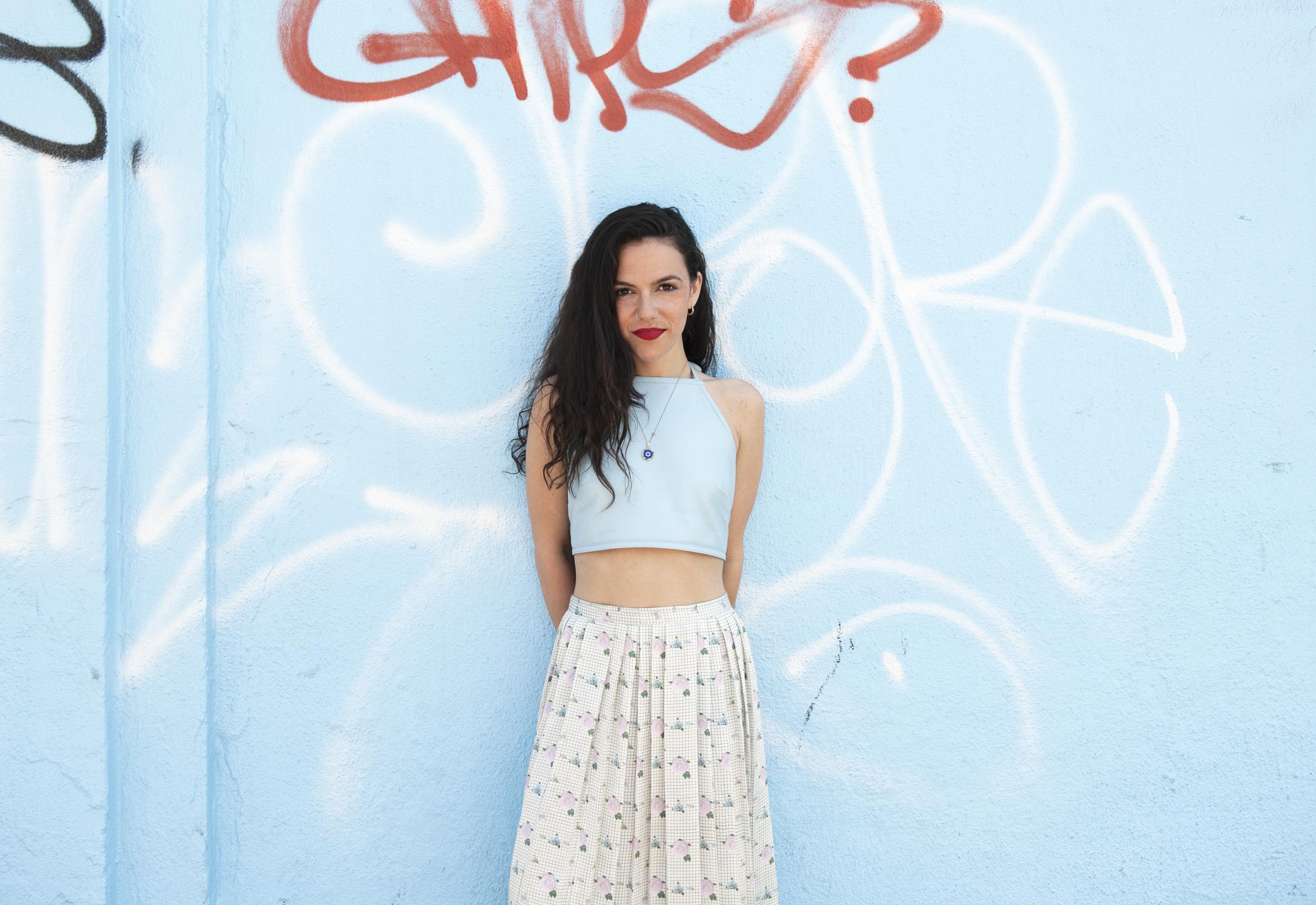 Sam Giordano, fashion designer and founder of fashion label, Dolores Haze.