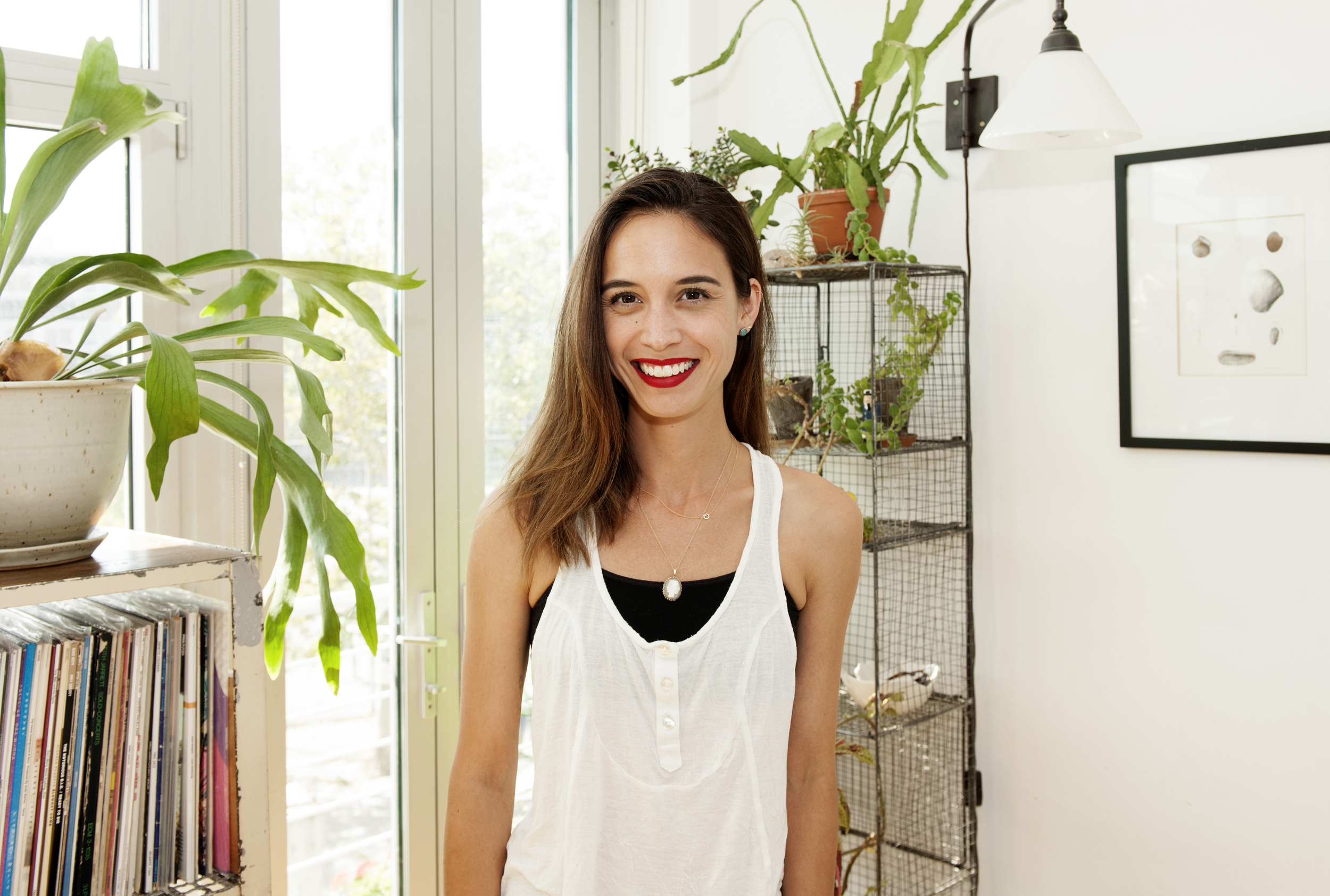 nicole chaszar   Founder of Splendid Spoon, 32, Greenpoint