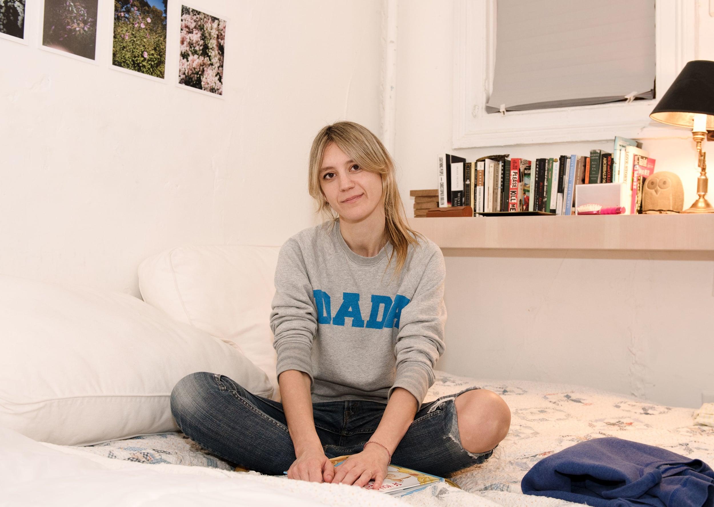 Frances Tulk-Hart, photographer, in her Greenpoint home.